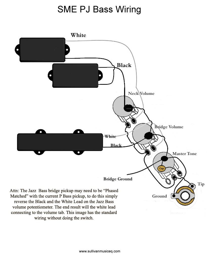Fender Precision B Wiring Diagram And Schematics Schematic Jazz