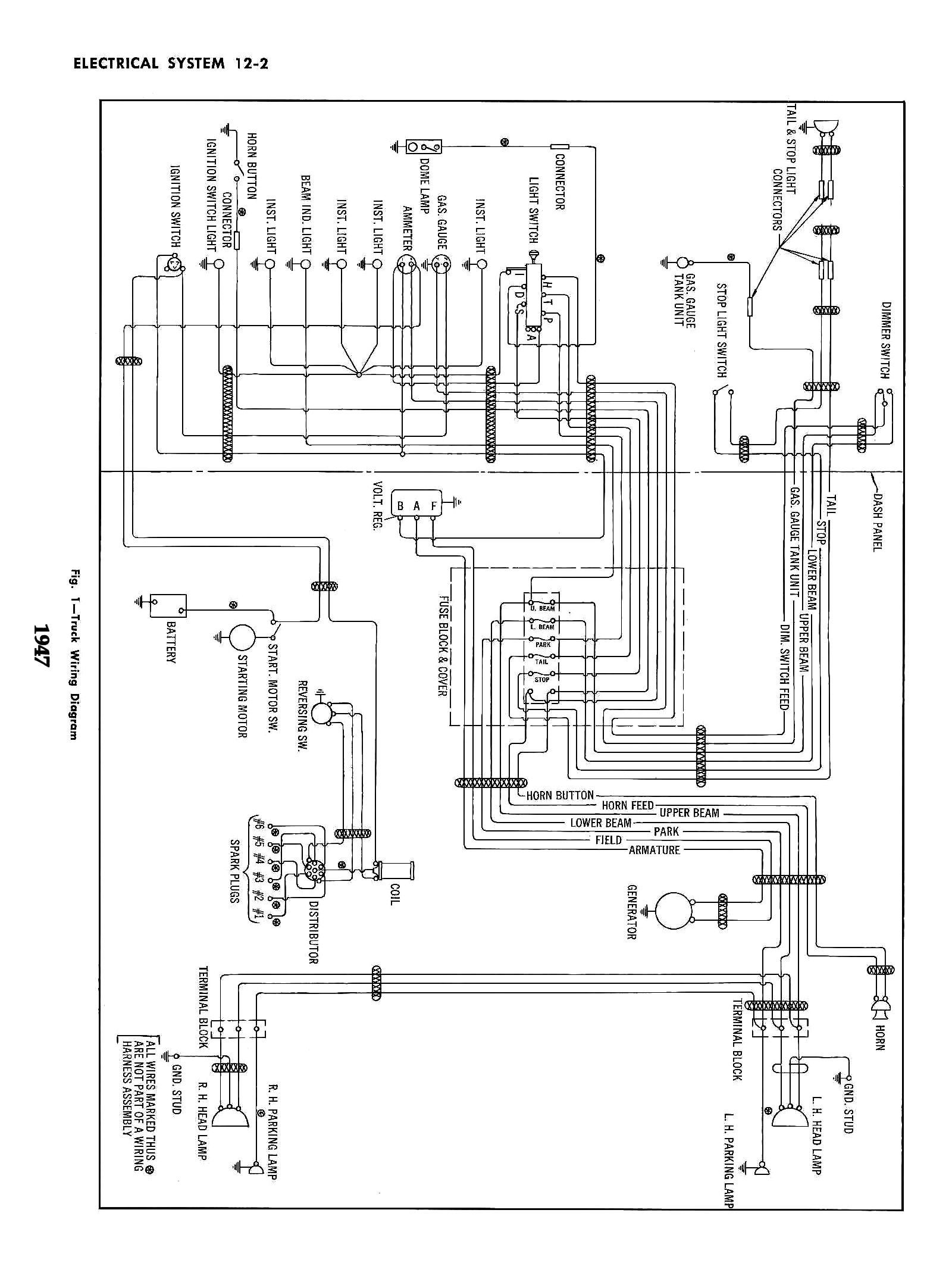 ford 4600 wiring diagram light