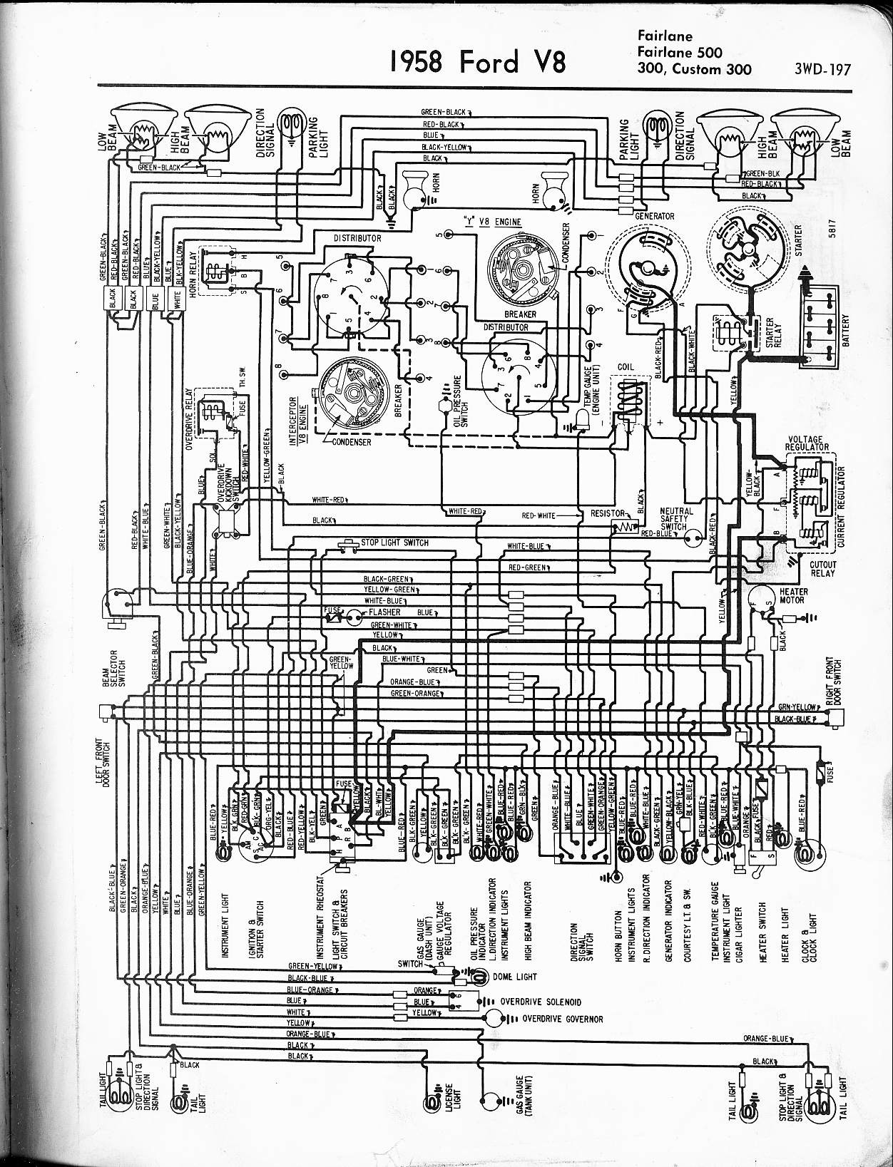 1958 Ford Fairlane Wiring Diagram Services Pinto Ignition Simple Electronic Circuits U2022 Rh Wiringdiagramone Today 1969 Mustang