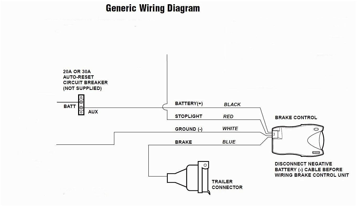 Sentinel Electric Trailer Brake Controller Wiring Diagram For