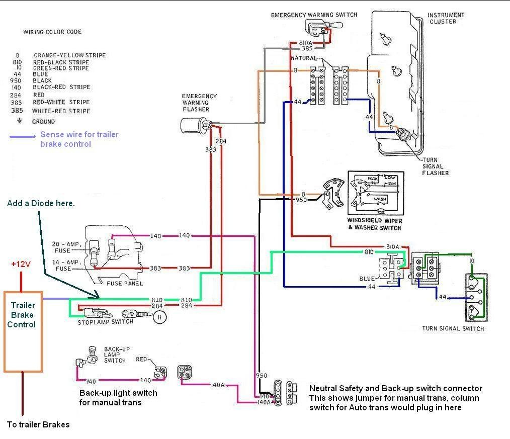 Wiring Diagram For A Brake Controller Electric Trailer Best At