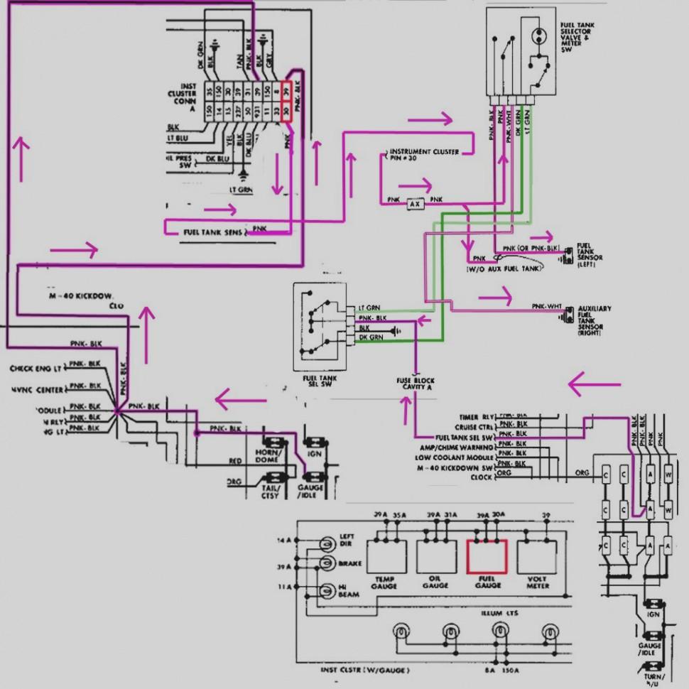 Fuel Tank Selector Valve Wiring Diagram