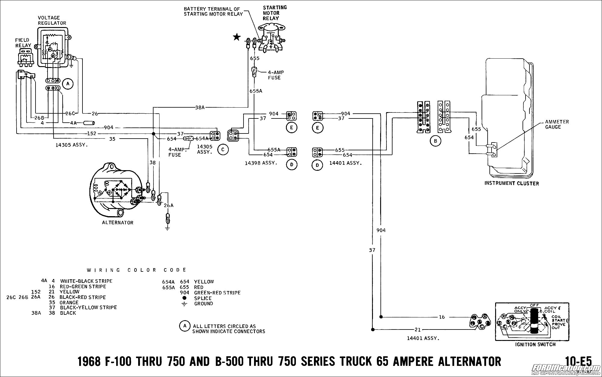 Ford 3000 Tractor Starter Wiring Diagram - Wiring Diagram