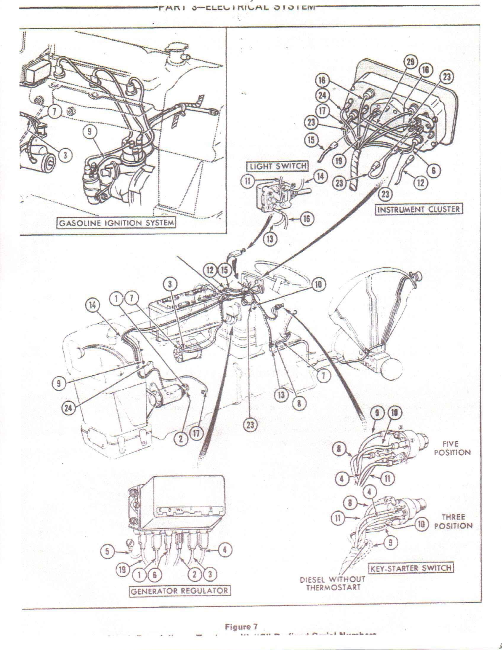 4000 ford tractor alternator wiring u2022 free wiring diagrams rh pcpersia org 6610 Ford Tractor Wiring Diagram Ford 4630 Tractor Wiring Diagram