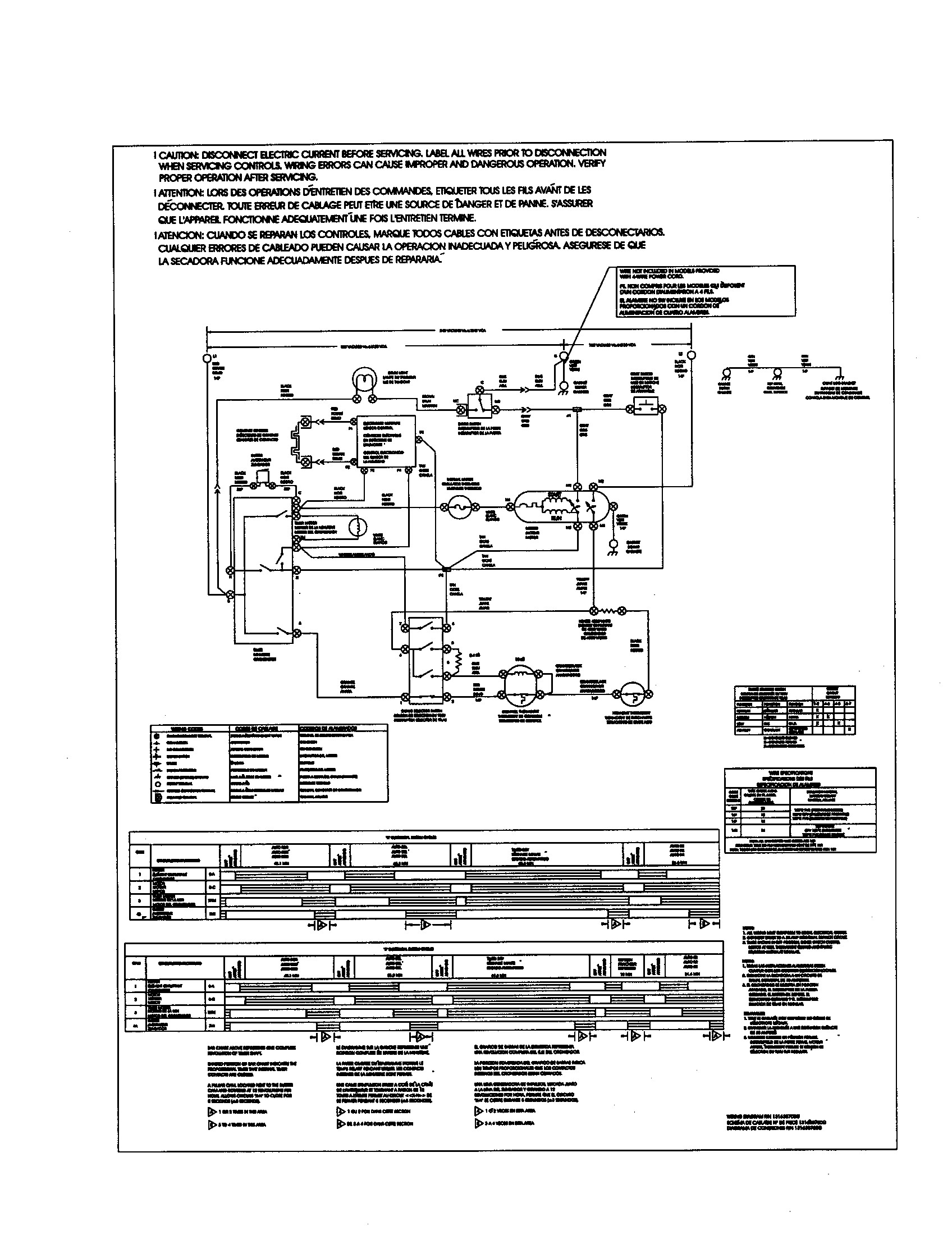 Frigidaire Gleq2152eso Dryer Wiring Diagram - Electrical Drawing ...