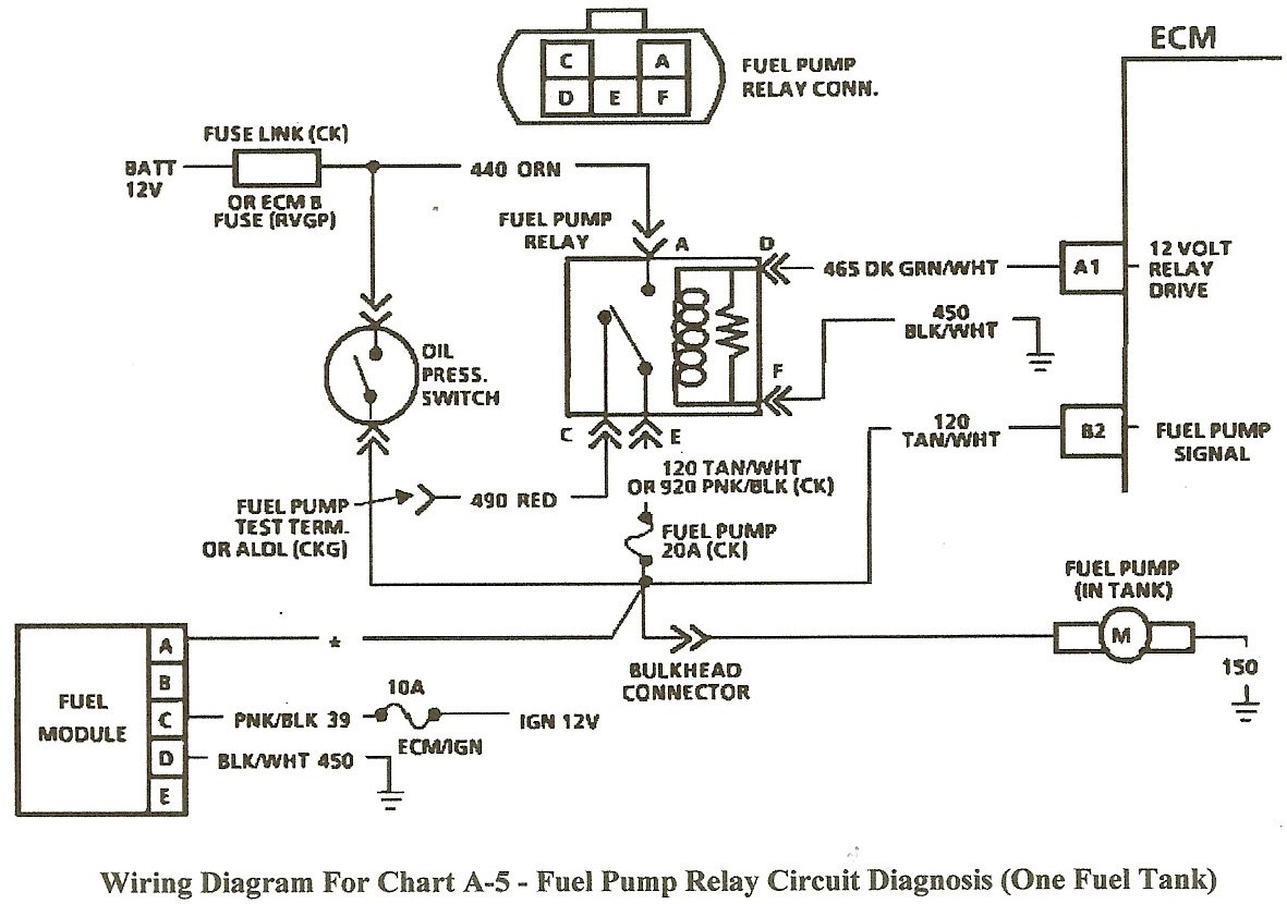 Corvette Fuel Pump Relay Wiring Diagram | Wiring Liry on