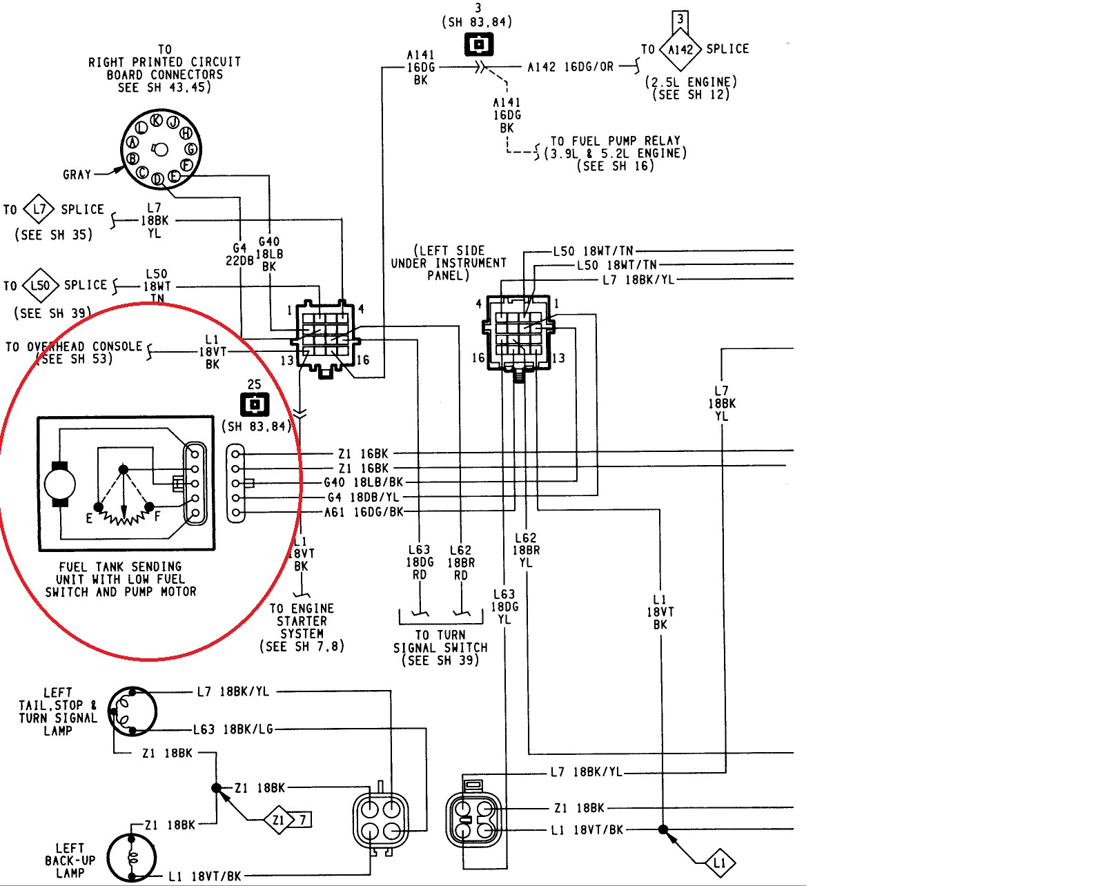 Delighted Fuel Sending Unit Wiring Diagram s Electrical Unbelievable