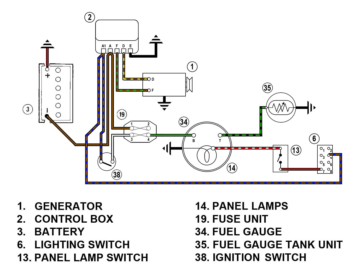 Gas Gauge Wiring Diagram How To Wire A Fuel Sending Unit For Air Extraordinary