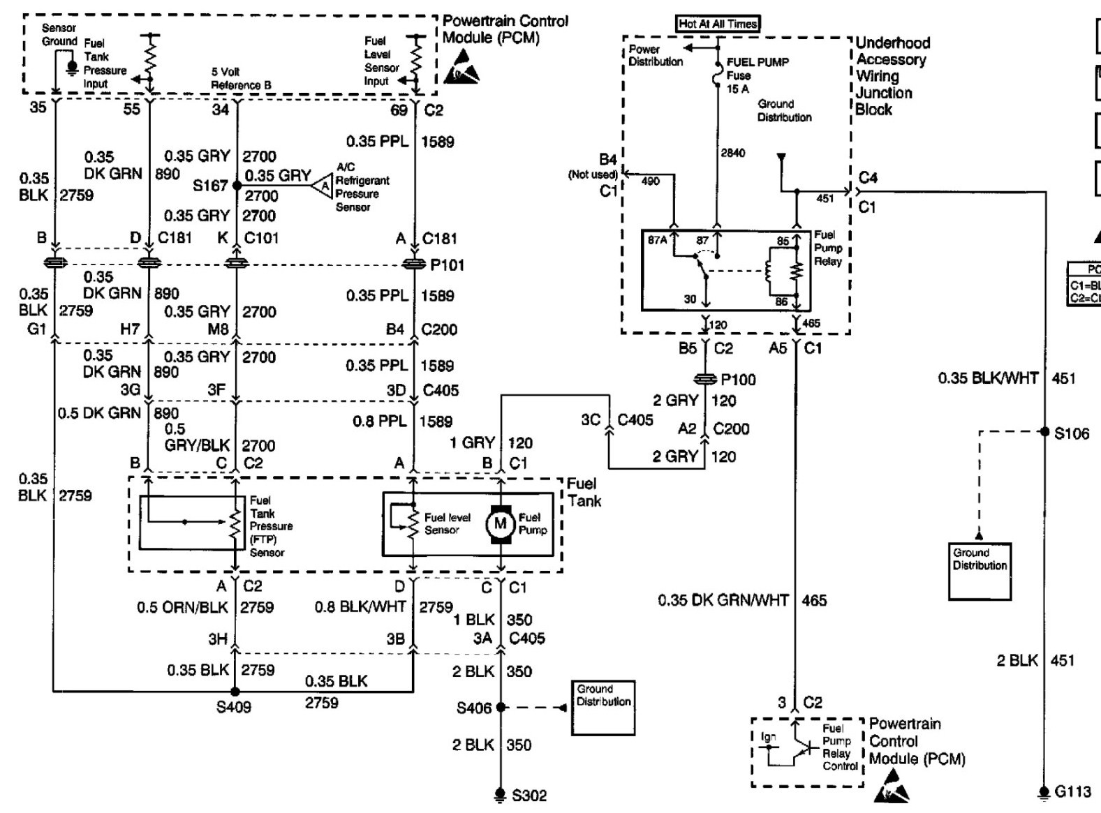 rci fuel gauge wiring diagram