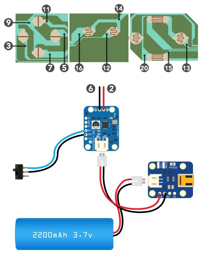 gaming circuit diagram