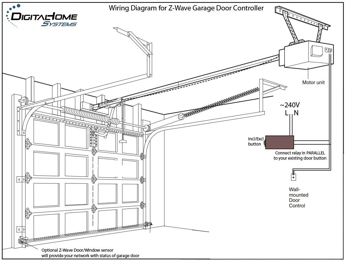 How To Wire Craftsman Garage Door Opener Sensor Fluidelectric At Wiring Diagram