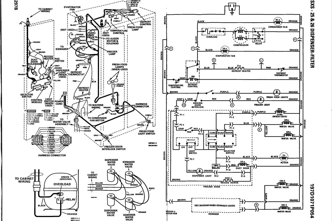 Ge Profile Refrigerator Wiring Diagram Image Computer Ice Maker Best Dishwasher Stunning