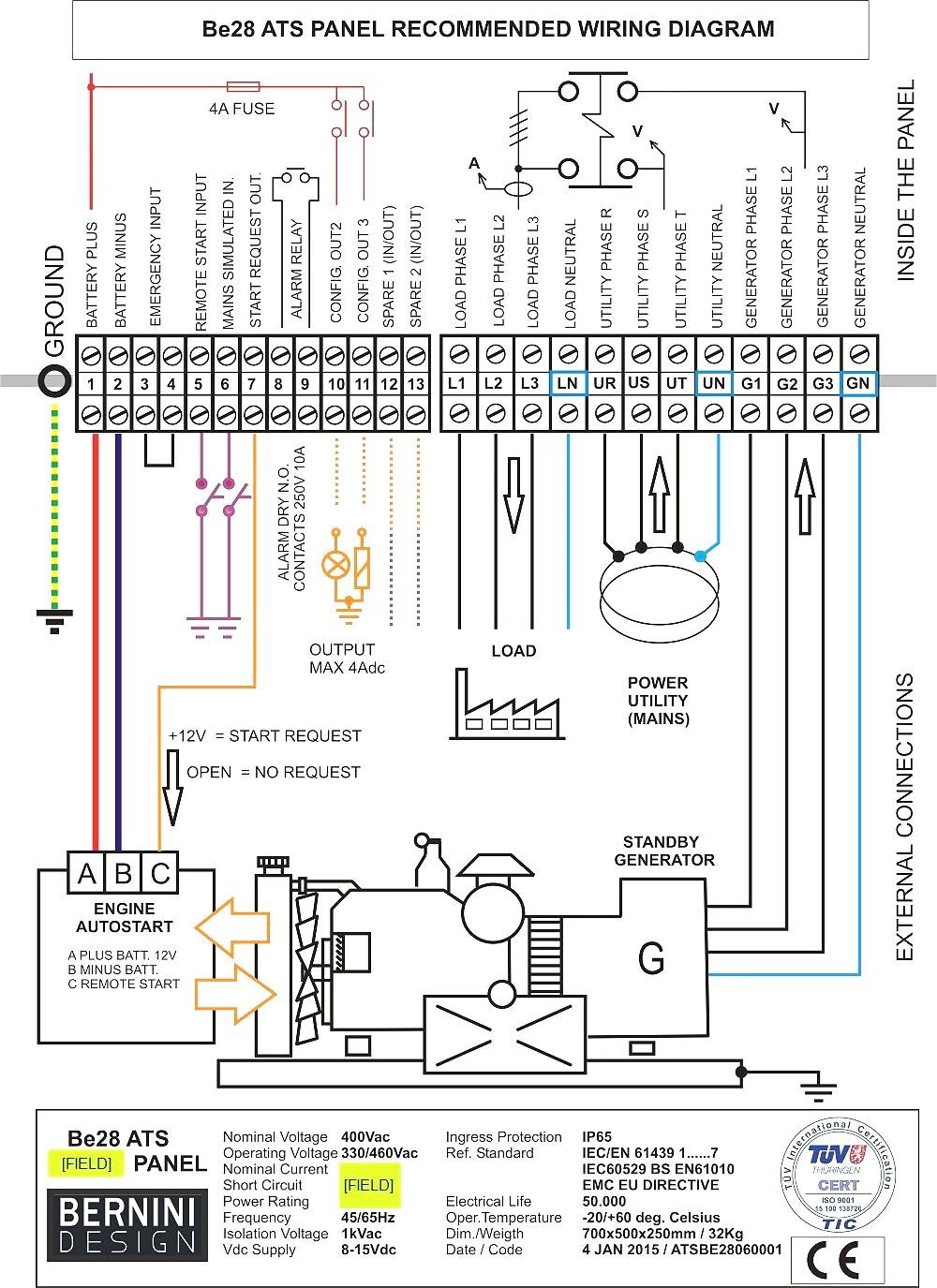 Generac Generator Wiring Diagram