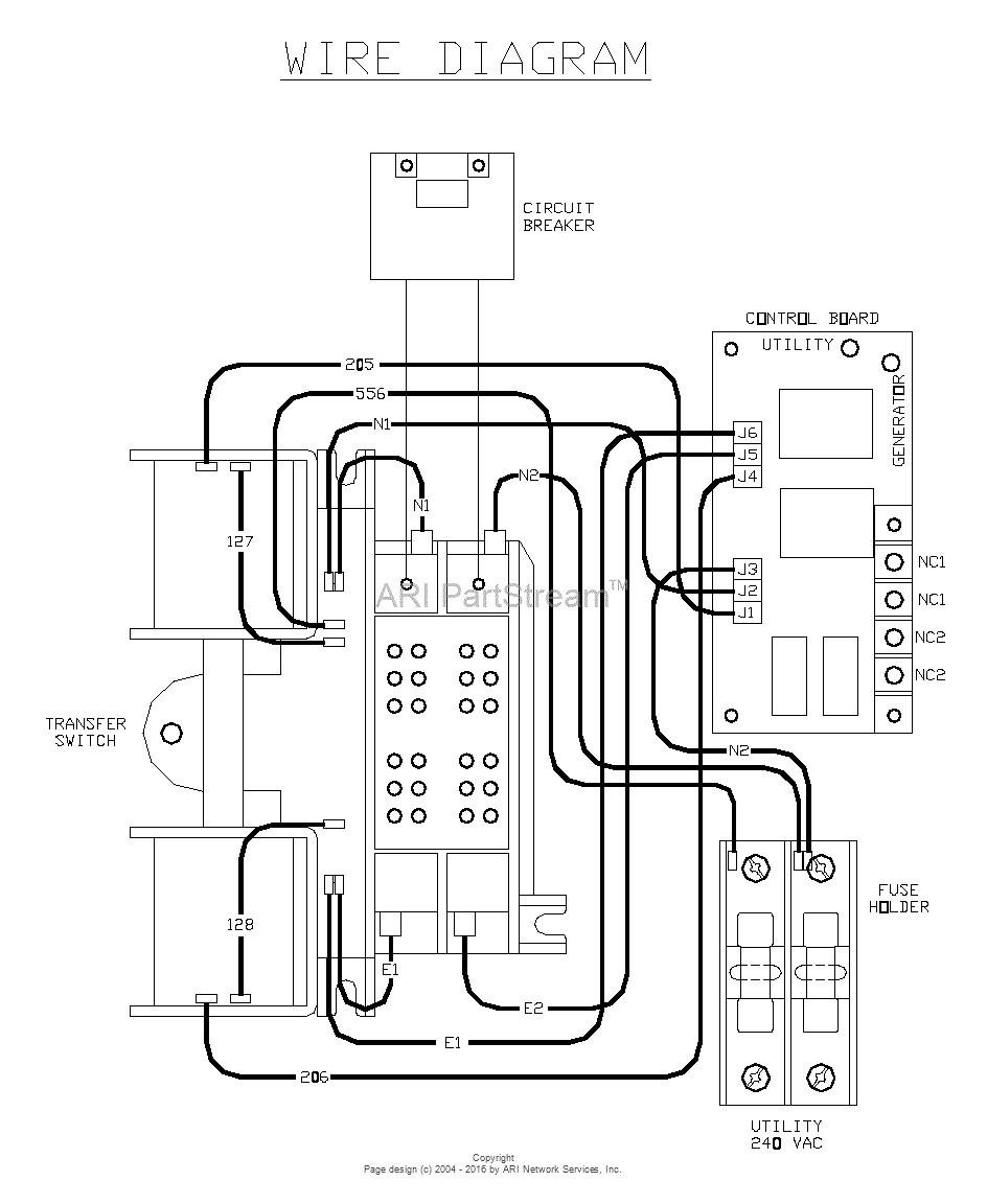 Diagram In Generac Transfer Switch Wiring WIRING DIAGRAM Throughout 200 Amp