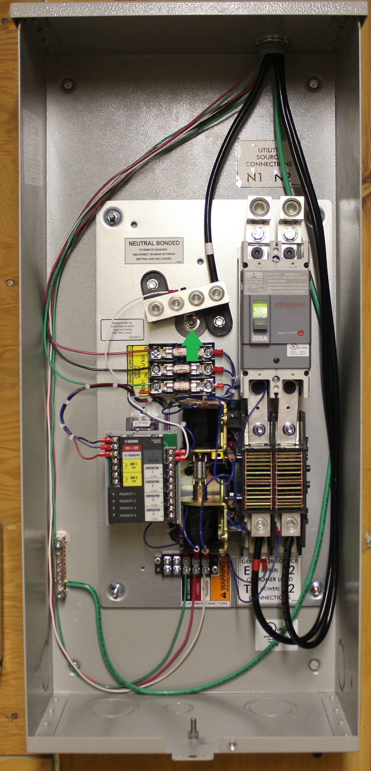 Wiring Diagram For Generac Transfer Switch The And Automatic Within 200