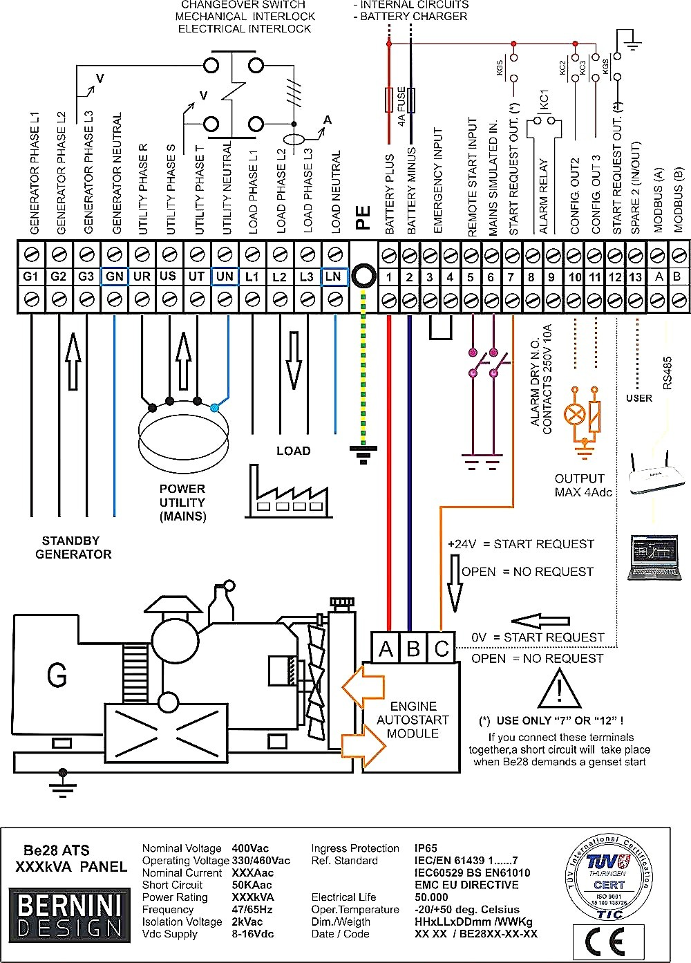 48 Volt Inverter Circuit Diagram Trusted Wiring Charger Generac Simple Electronic 3000 Plus