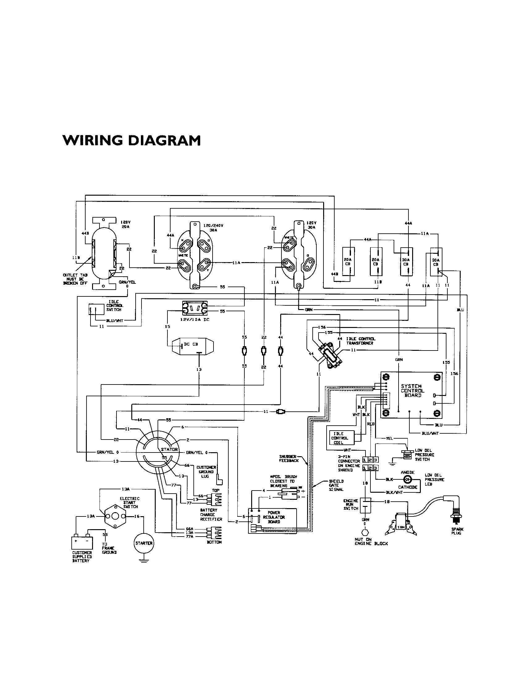 generac battery charger wiring diagram new