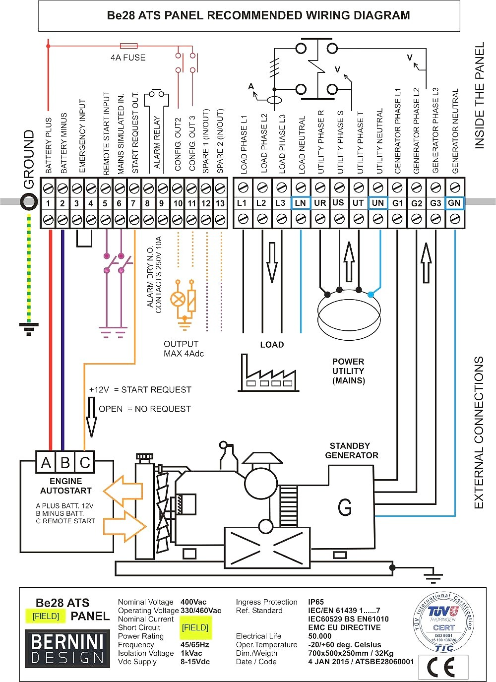 generac transfer switch wiring diagram unique wiring diagram image rh mainetreasurechest com 200 Amp Generac Transfer Switch Wiring Generac Automatic Transfer Switches Wiring