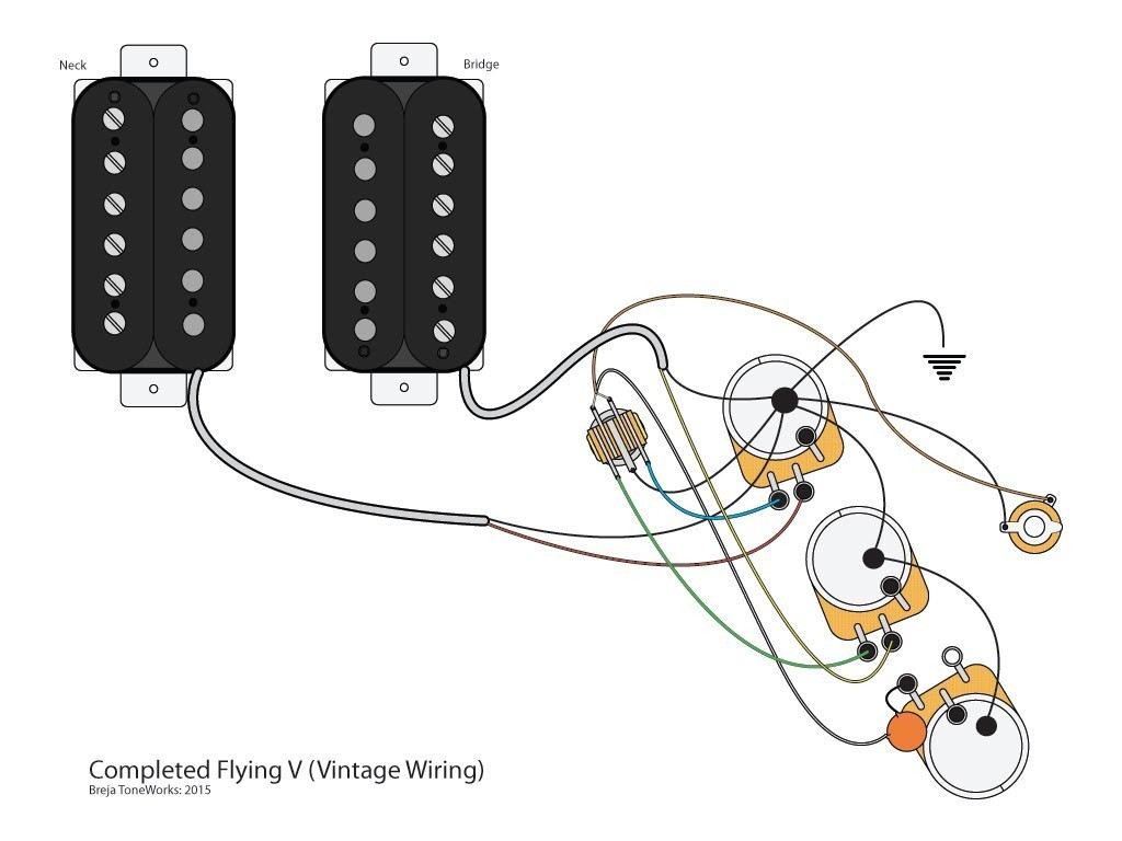 Sg Coil Tap Wiring Reveolution Of Diagram Switchcraft Epiphone To Gibson Explorer Jackson Randy Rhoads Electric