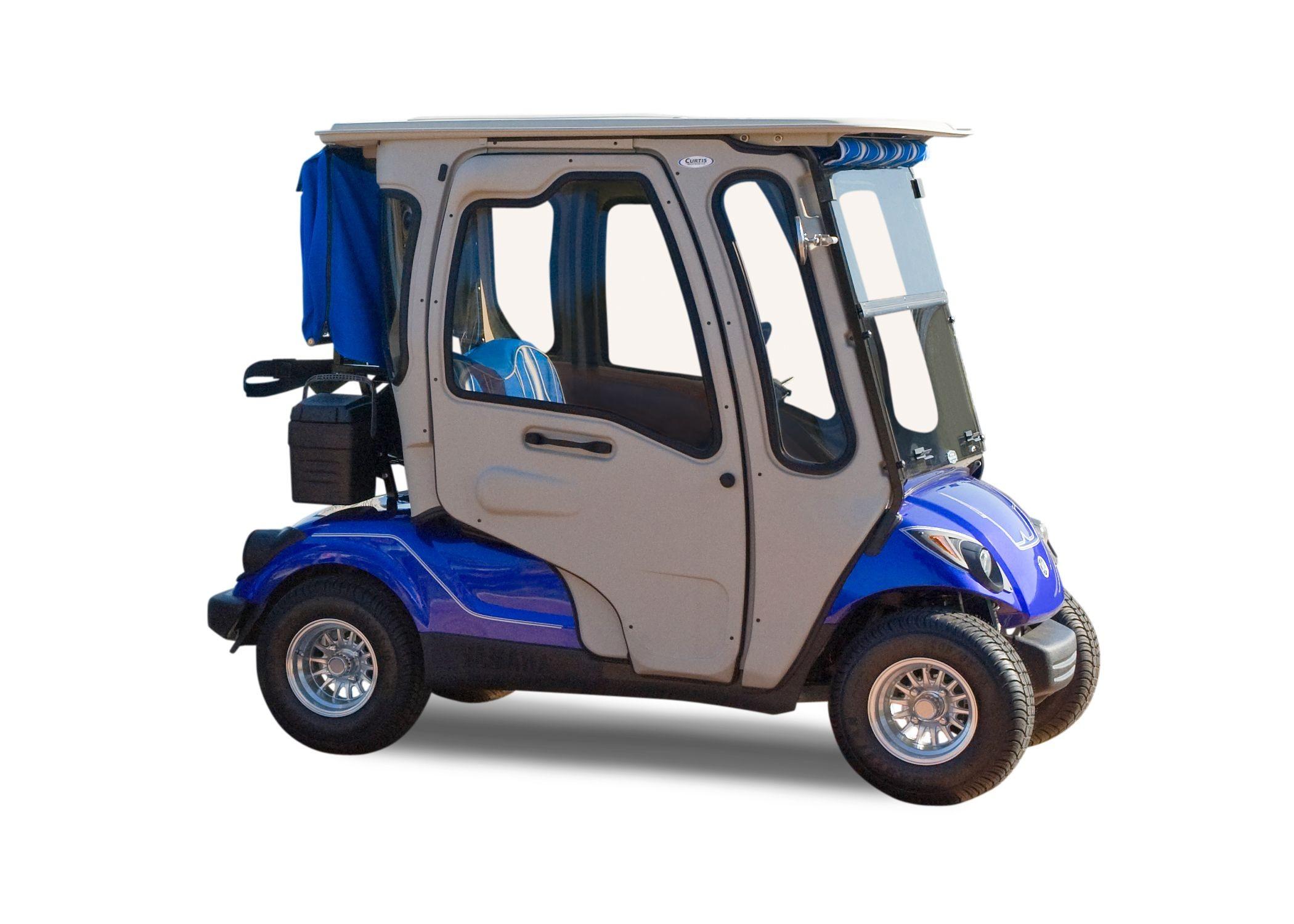 Curtis Cab Hard Door Enclosure Golf Cart