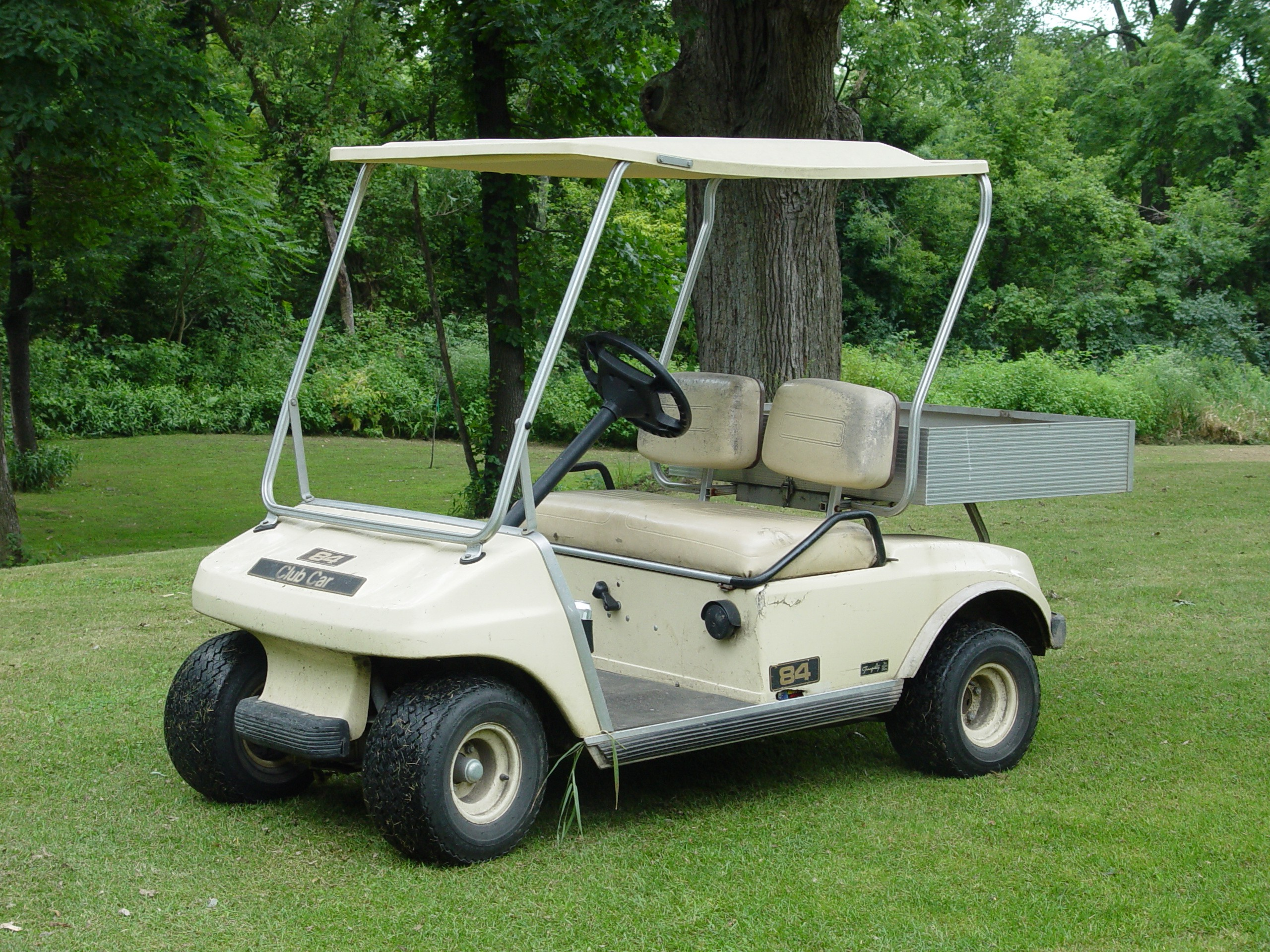 Golf carts are a very popular modity and their popularity is increasing