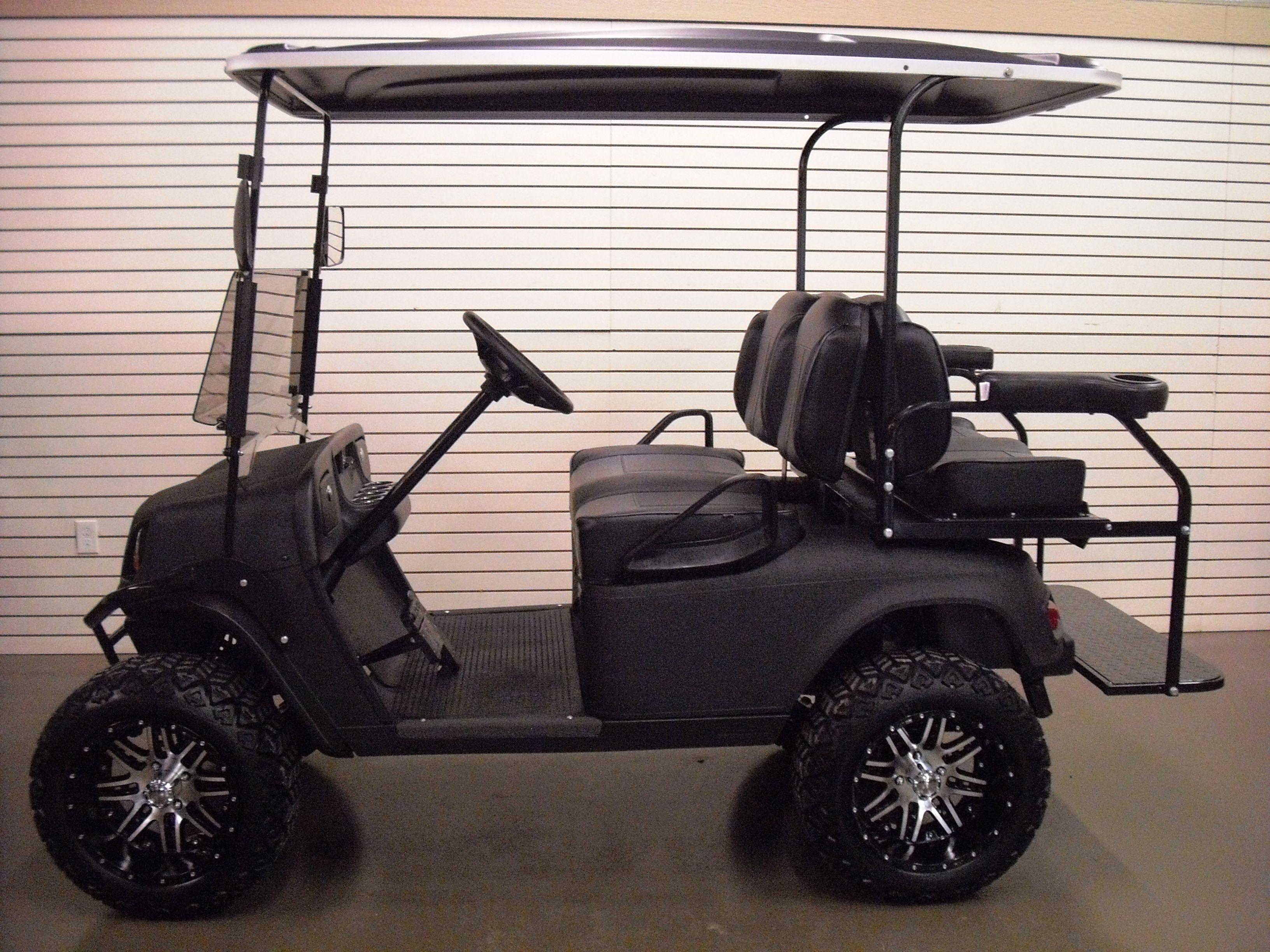 Golf cart for sale 2011 Black spray liner electric golf cart $7 495 00 We