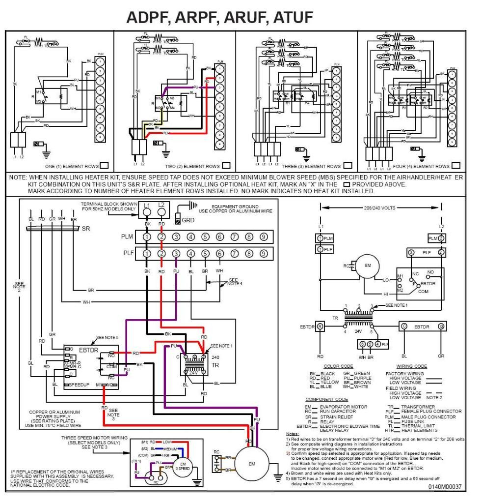 Amazing Goodman Heat Pump Thermostat Wiring Diagram 37 About Ripping  Diagrams