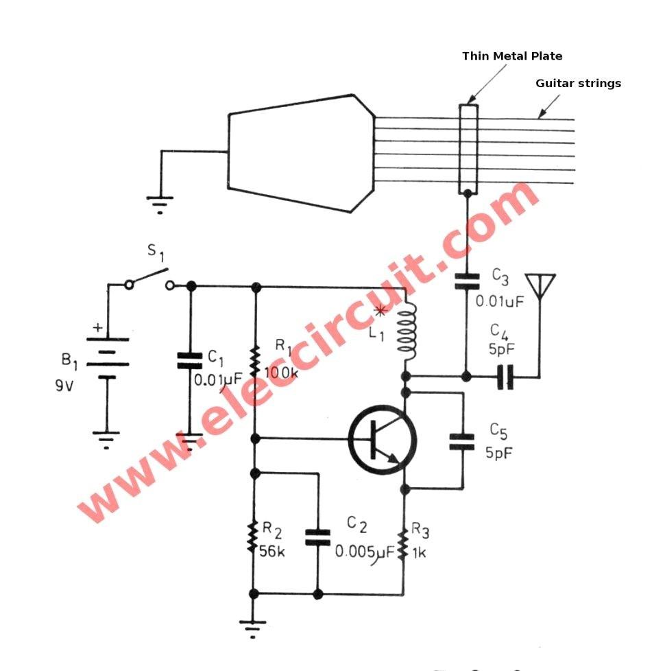Guitar Wiring Diagram Generator Image Electric Flathead Electrical Diagrams Fine Simple