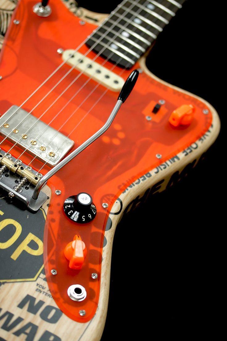 Deimel Firestar Artist Edition The pickguard is interesting