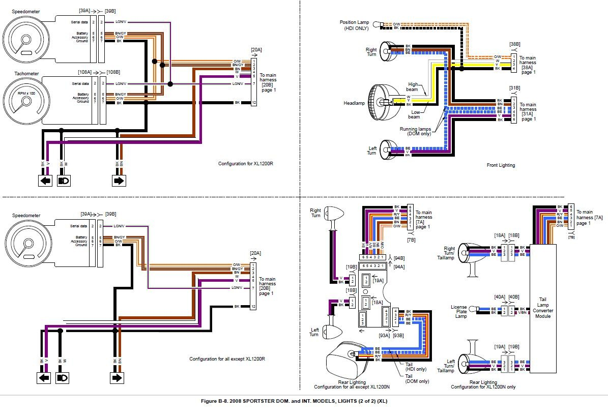 harley davidson headlight wiring diagram best of wiring diagram image rh mainetreasurechest com Harley Wiring Diagram Simplified Harley Wiring Harness Diagram