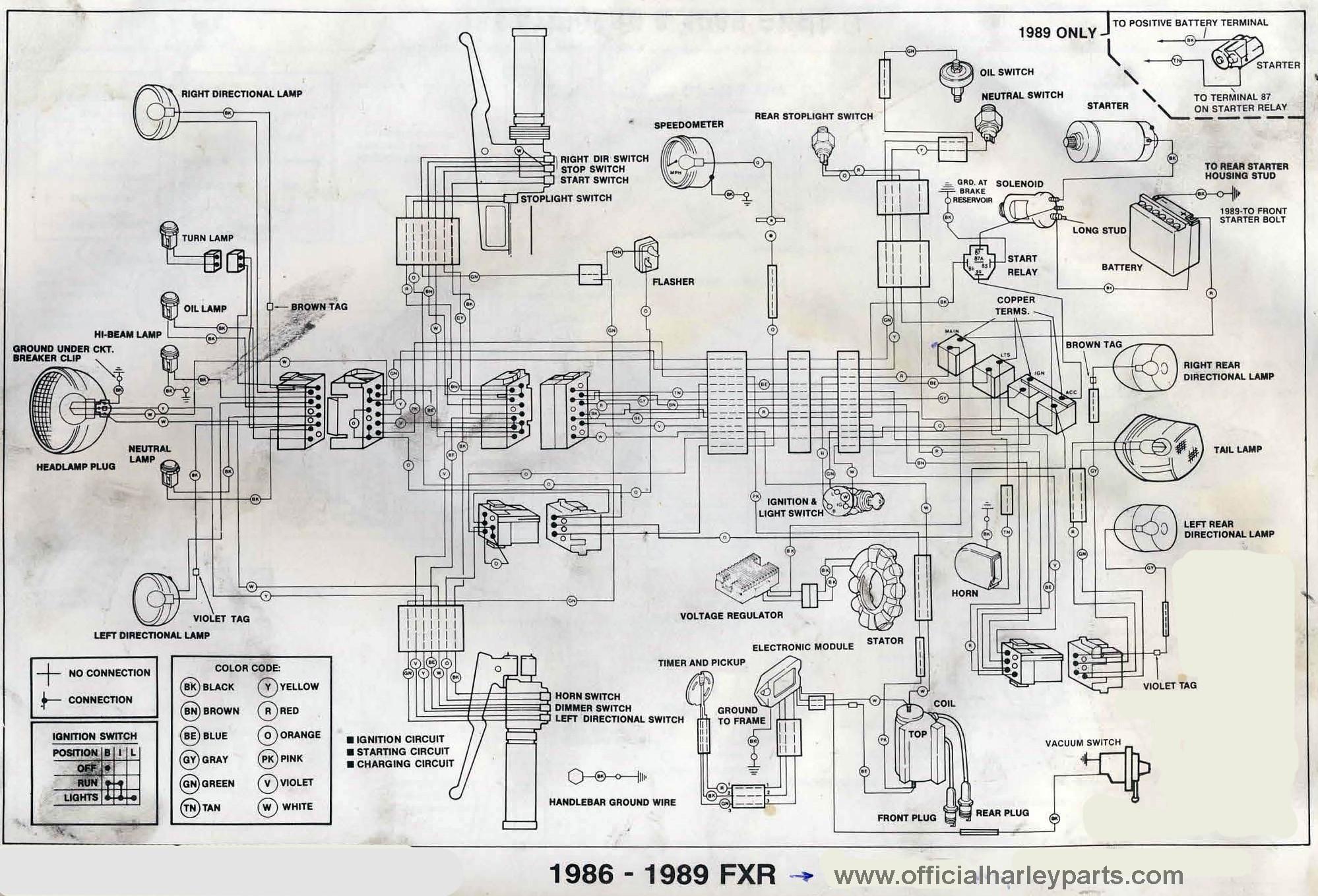 Fxr Wiring    Diagram      Wiring Diagrams