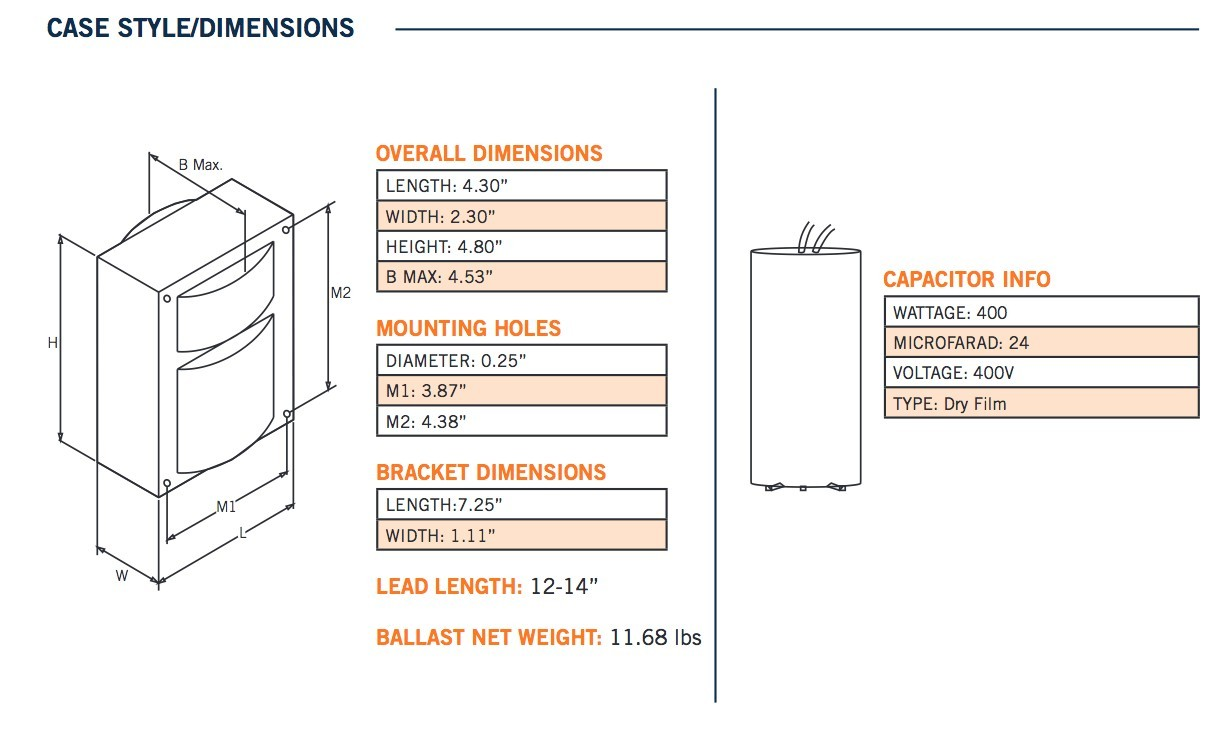High Pressure sodium Ballast Wiring Diagram   Wiring Diagram Image