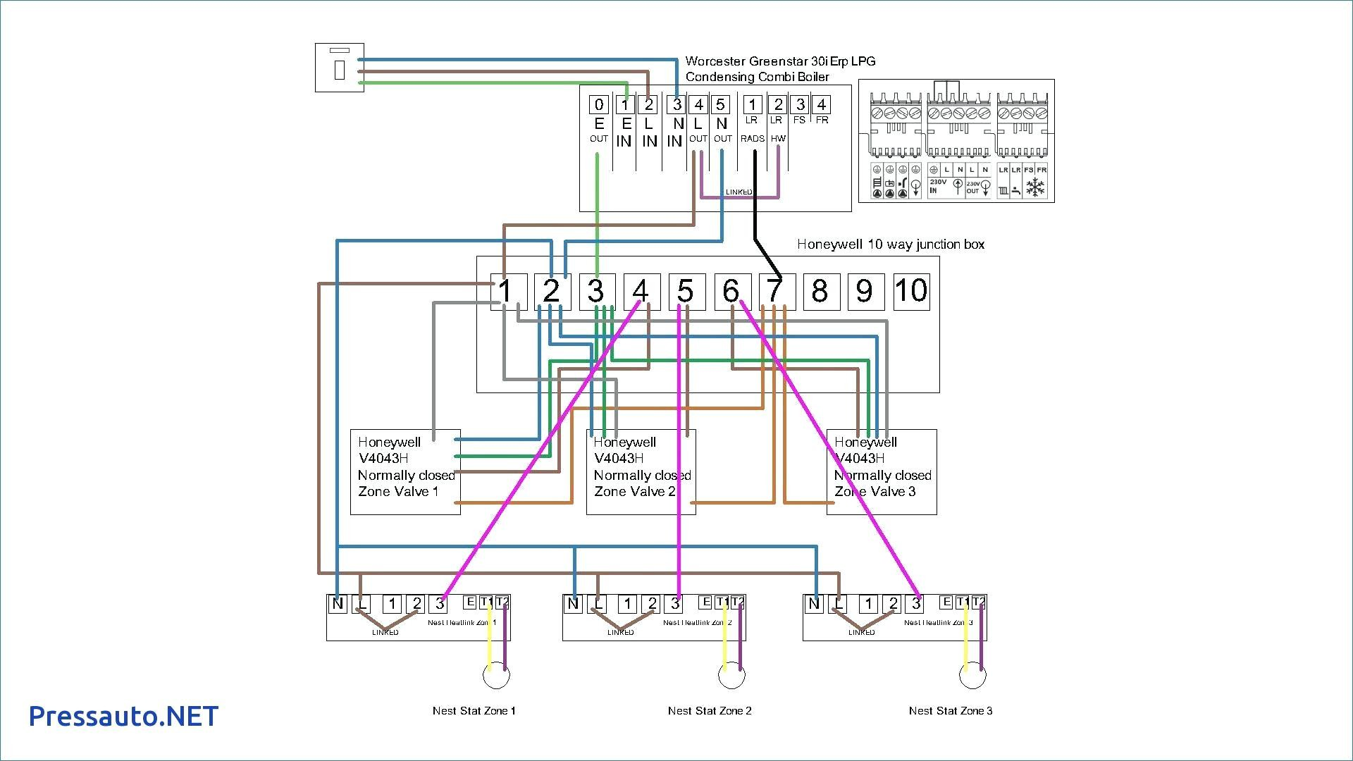 unusual 3 port valve wiring diagram images electrical honeywell actuator diagrams for zone valves on boiler