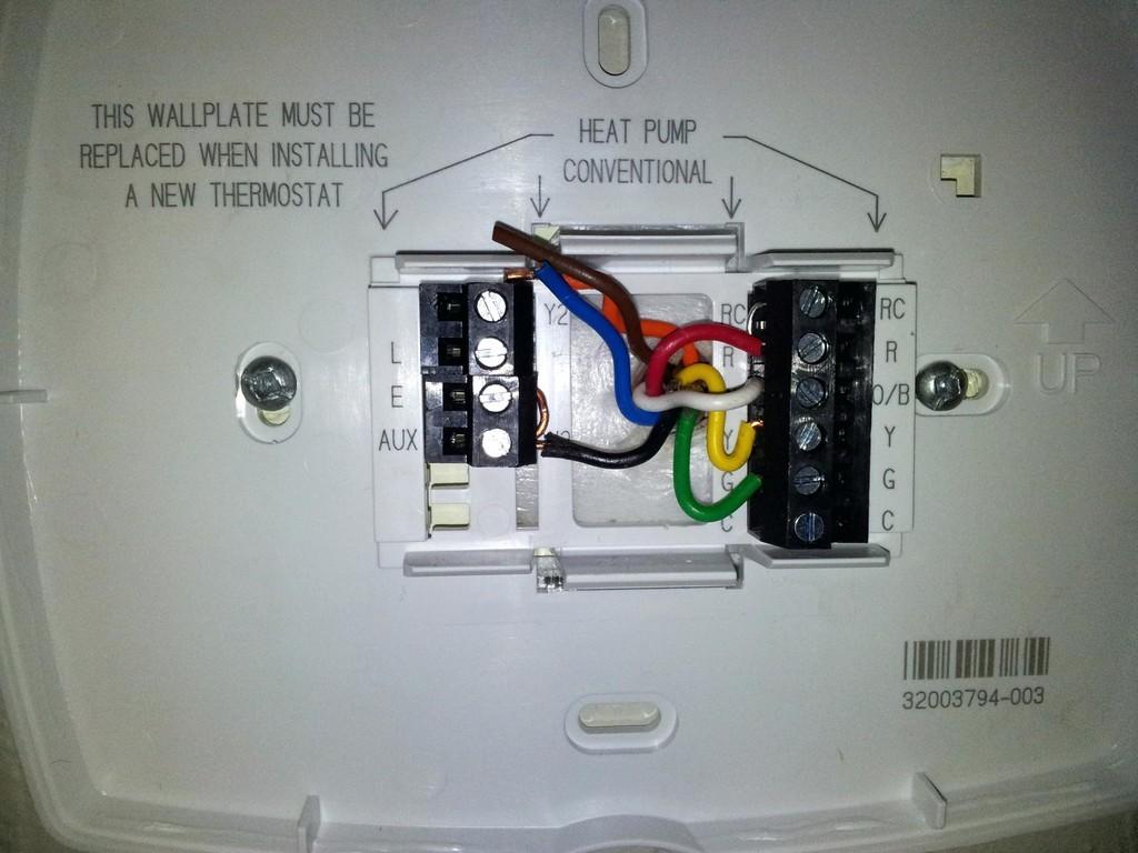 Honeywell Heat Pump Thermostat Wiring Diagram Inspirational