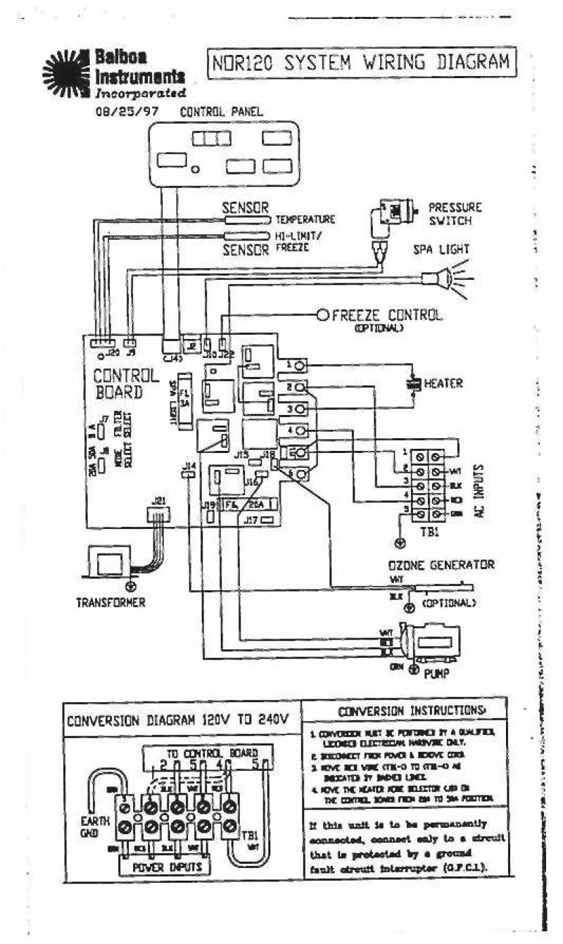 Hot Tub Control Panel Wiring Diagram - Circuit Diagram Symbols •