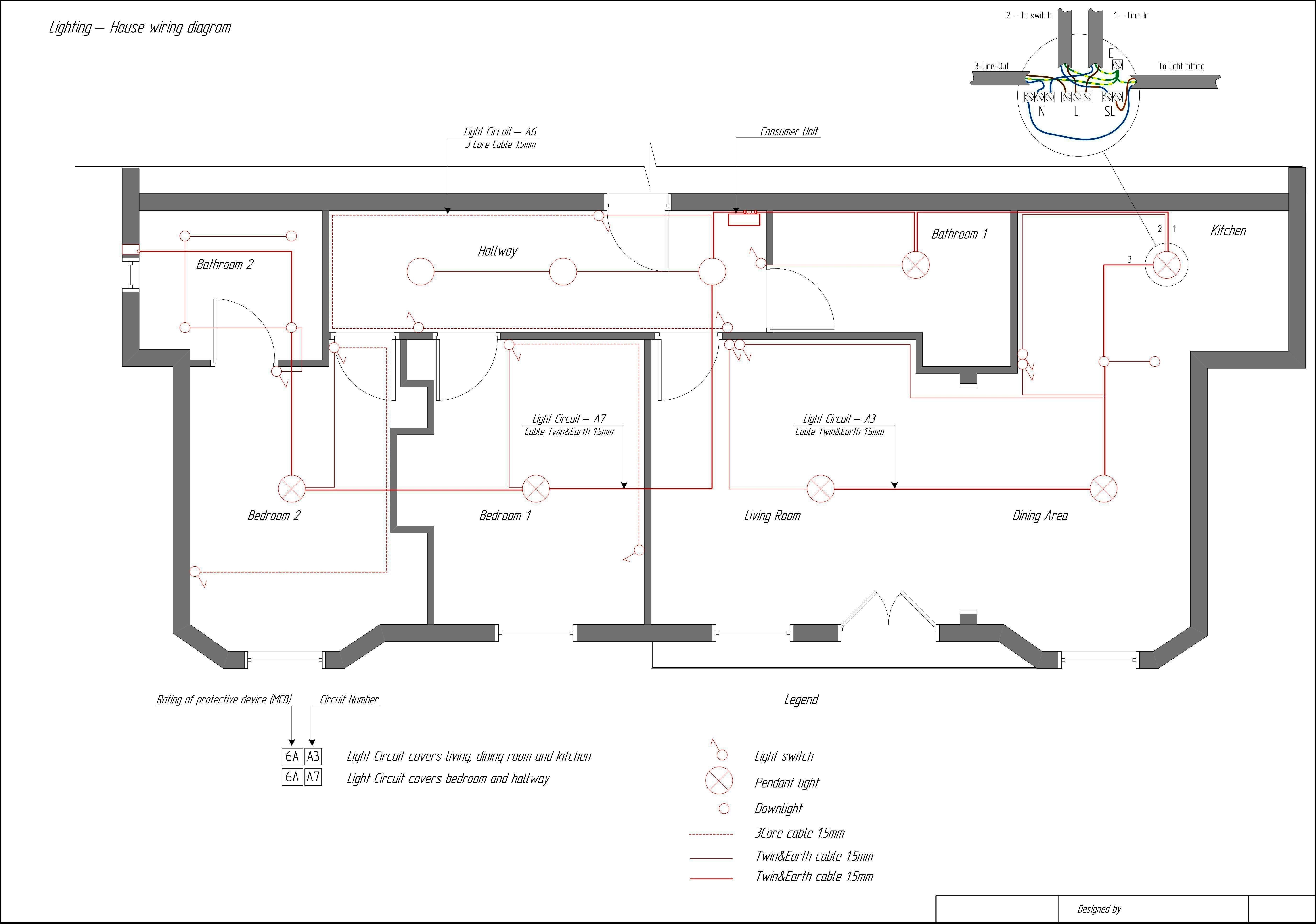 House Wiring Diagram House Wiring Diagrams Database Electrical
