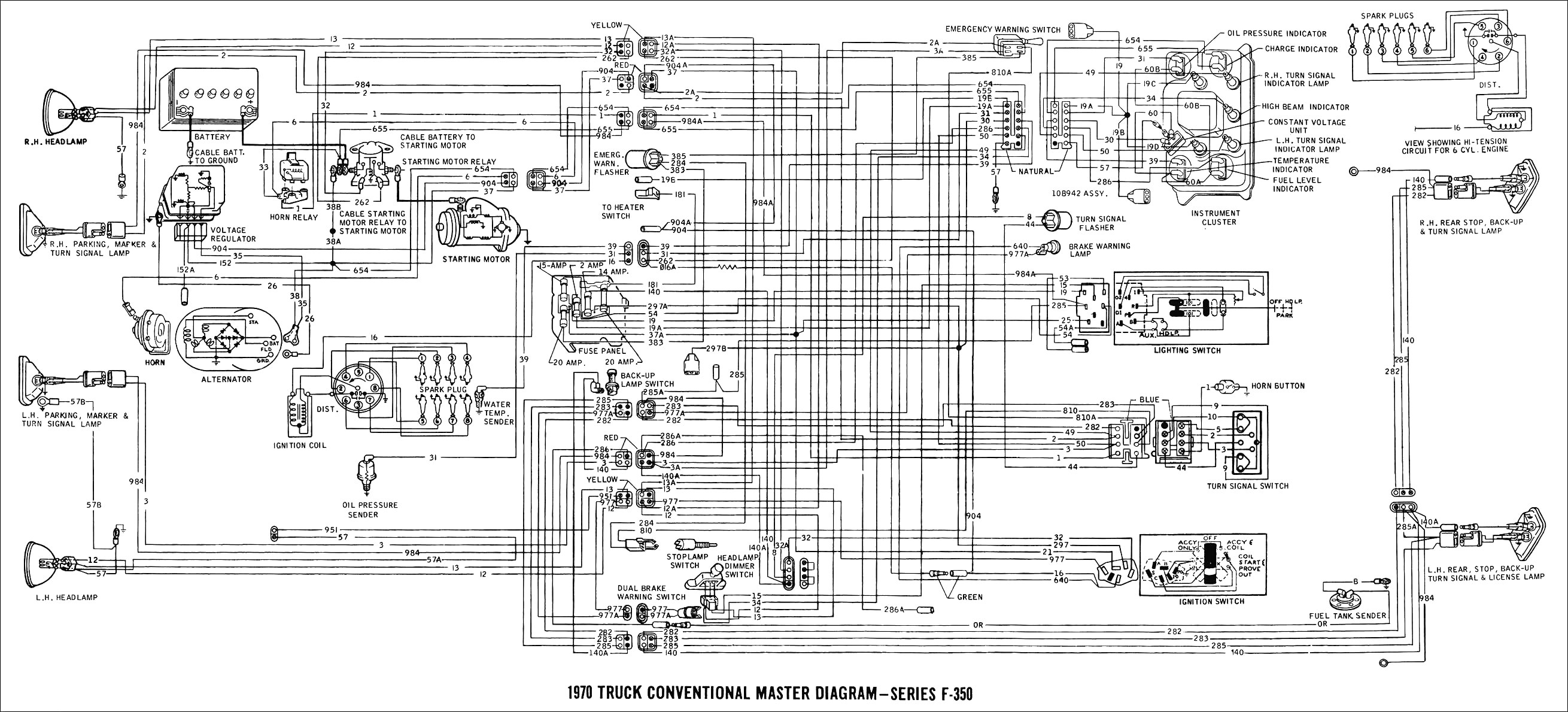 Suzuki Carry Wiring Diagram Electronicswiring 1996 Ford Ranger In 70f350 Master And 95