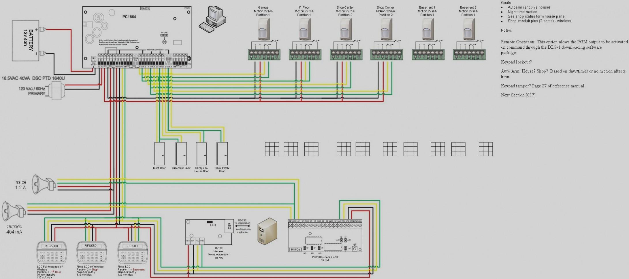 Unique Dsc 4 Wire Smoke Alarm Wiring Diagram With Relay Burglar Free Download Diagrams