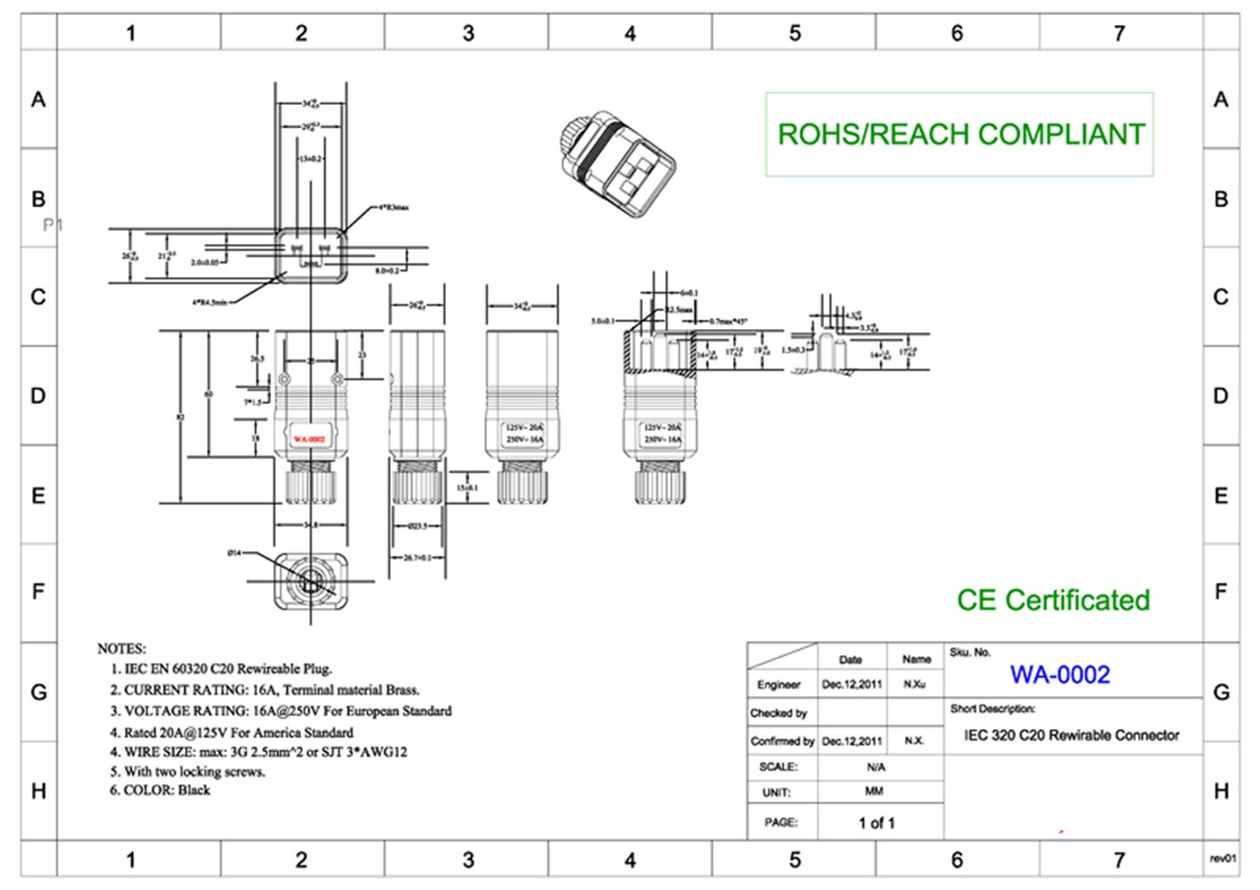 Iec 320 C14 Wiring Diagram Awesome Image Receptacle Packing 1 Plug
