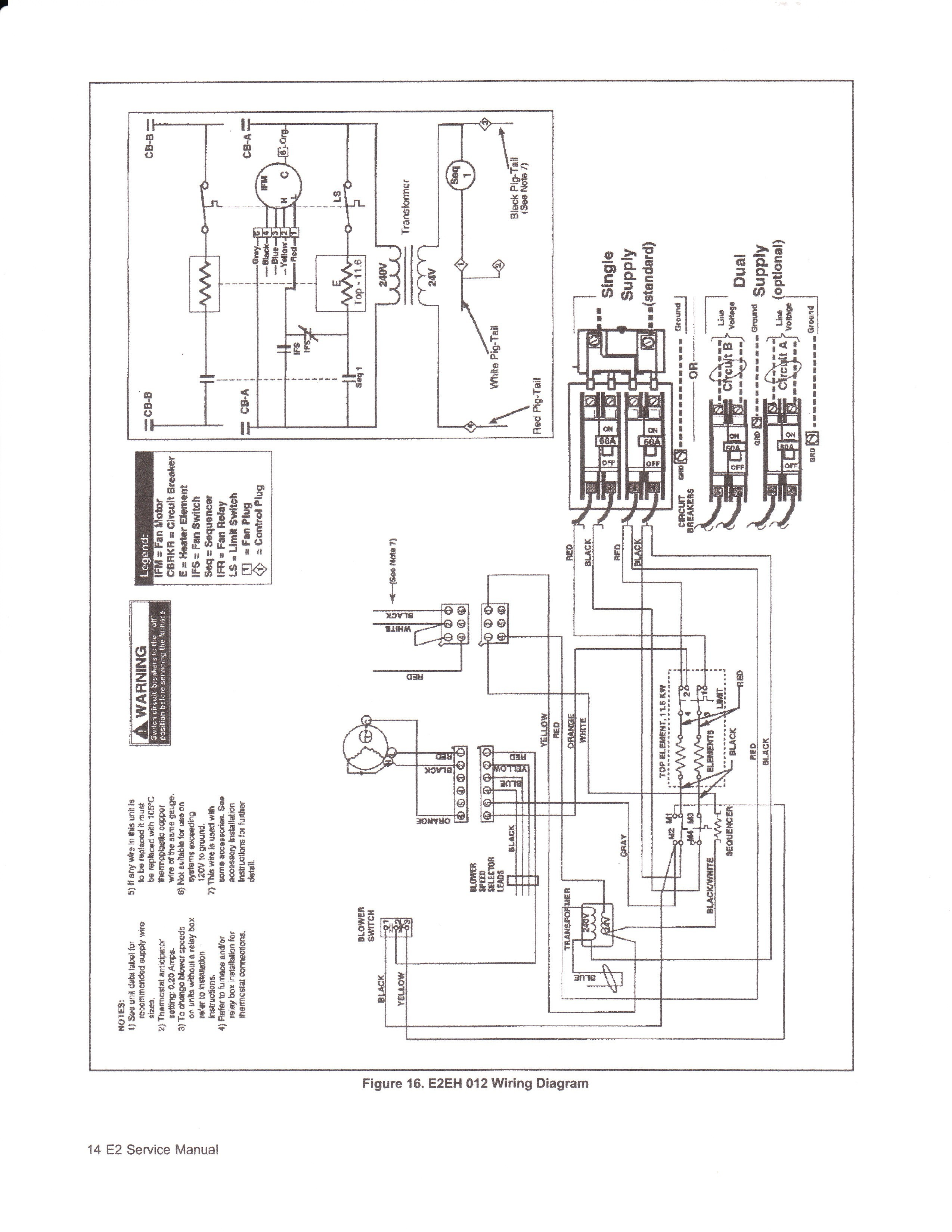 Gallery of Inspirational Intertherm Electric Furnace Wiring Diagram