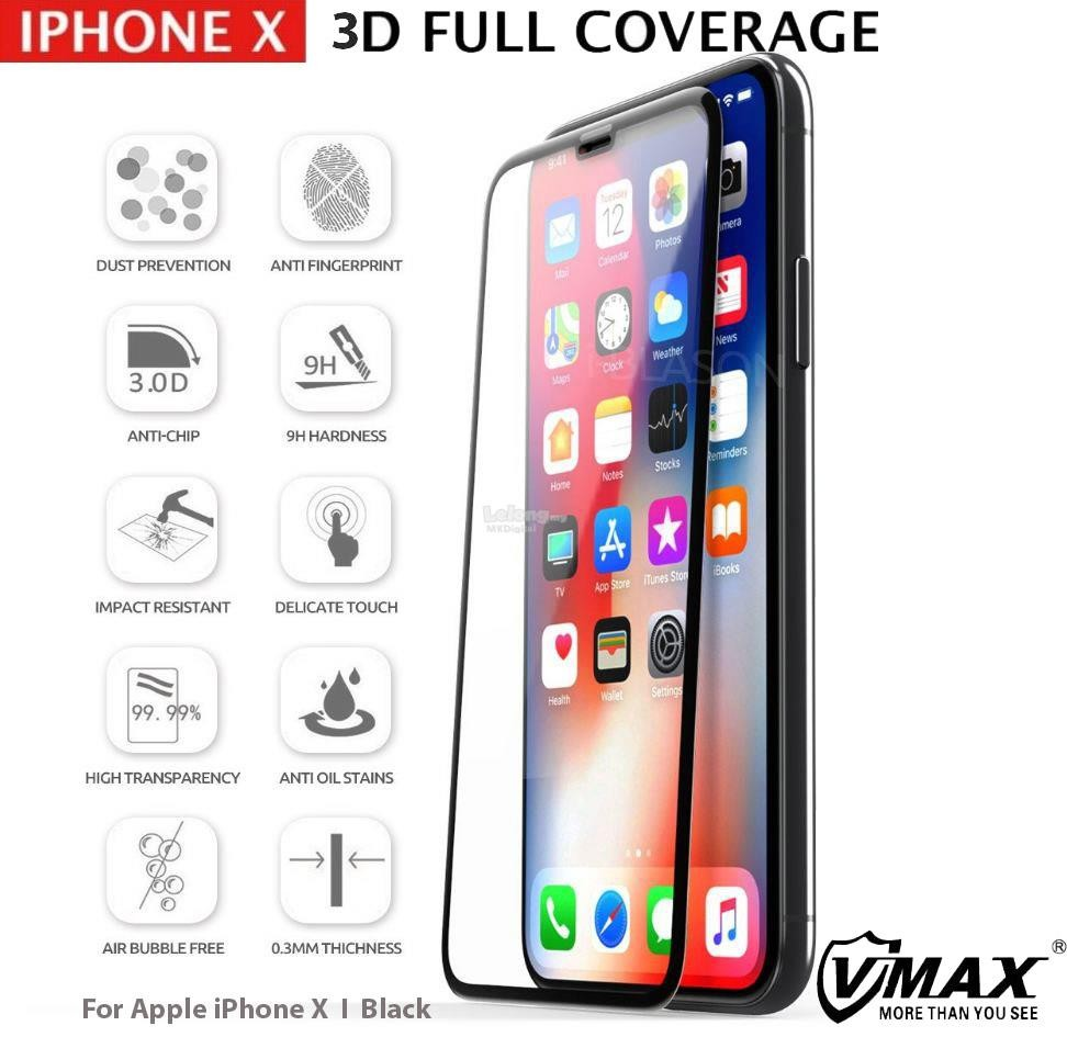 apple iphone x 3d full cover curved tempered glass screen protector mkdigital 1801 16 MKDigital 17