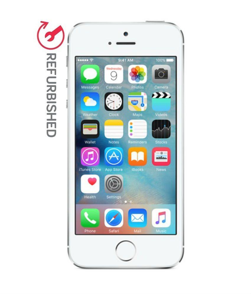 REFURBISHED Apple iPhone 5s 16GB Silver 1 GB RAM