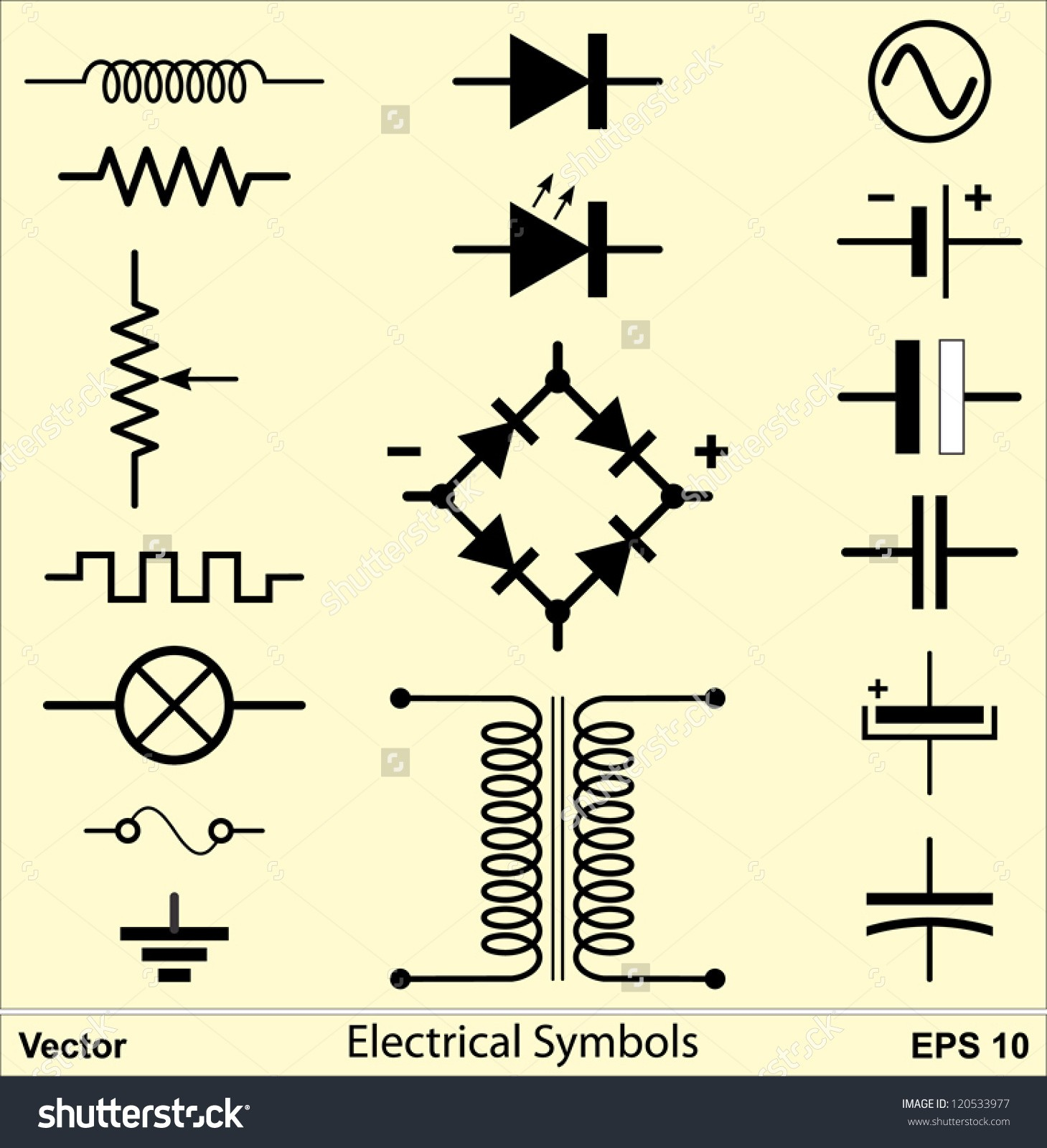 Fine Symbol For Electricity Inspiration Electrical