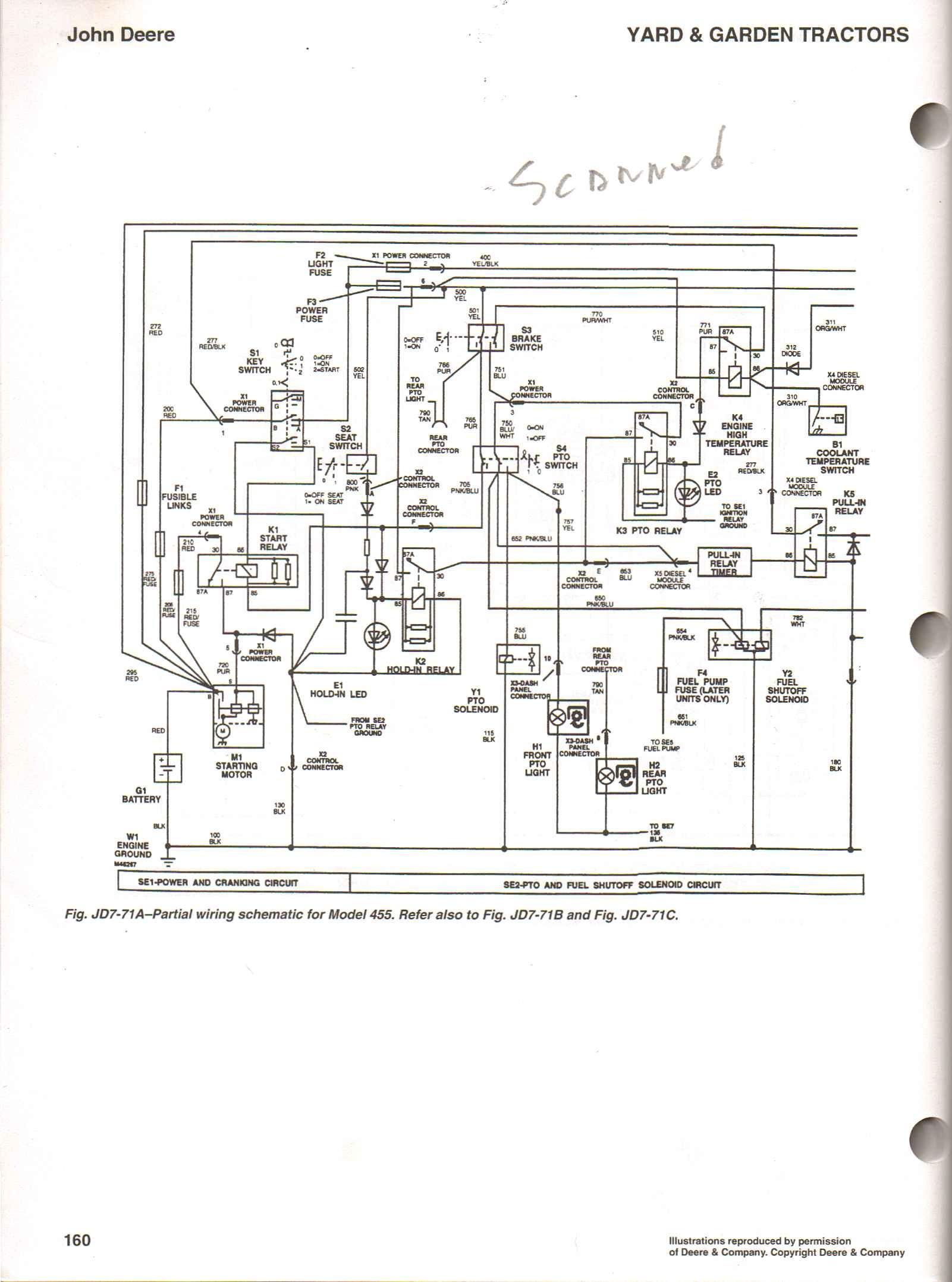 john deere 4450 tractor wiring schematic john deere 265 wiring rh banyan palace com