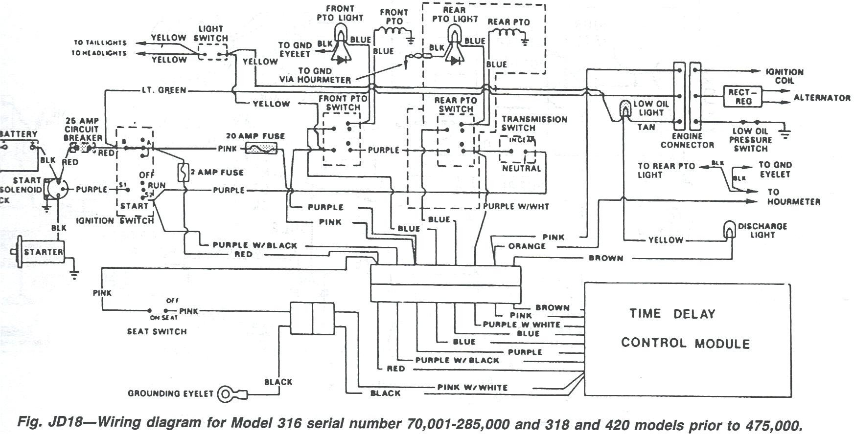 John Deere 317 Wiring Diagram Mockingbird 285 Ignition Just Schematic Rh Lailamaed Co Uk Tractor 318