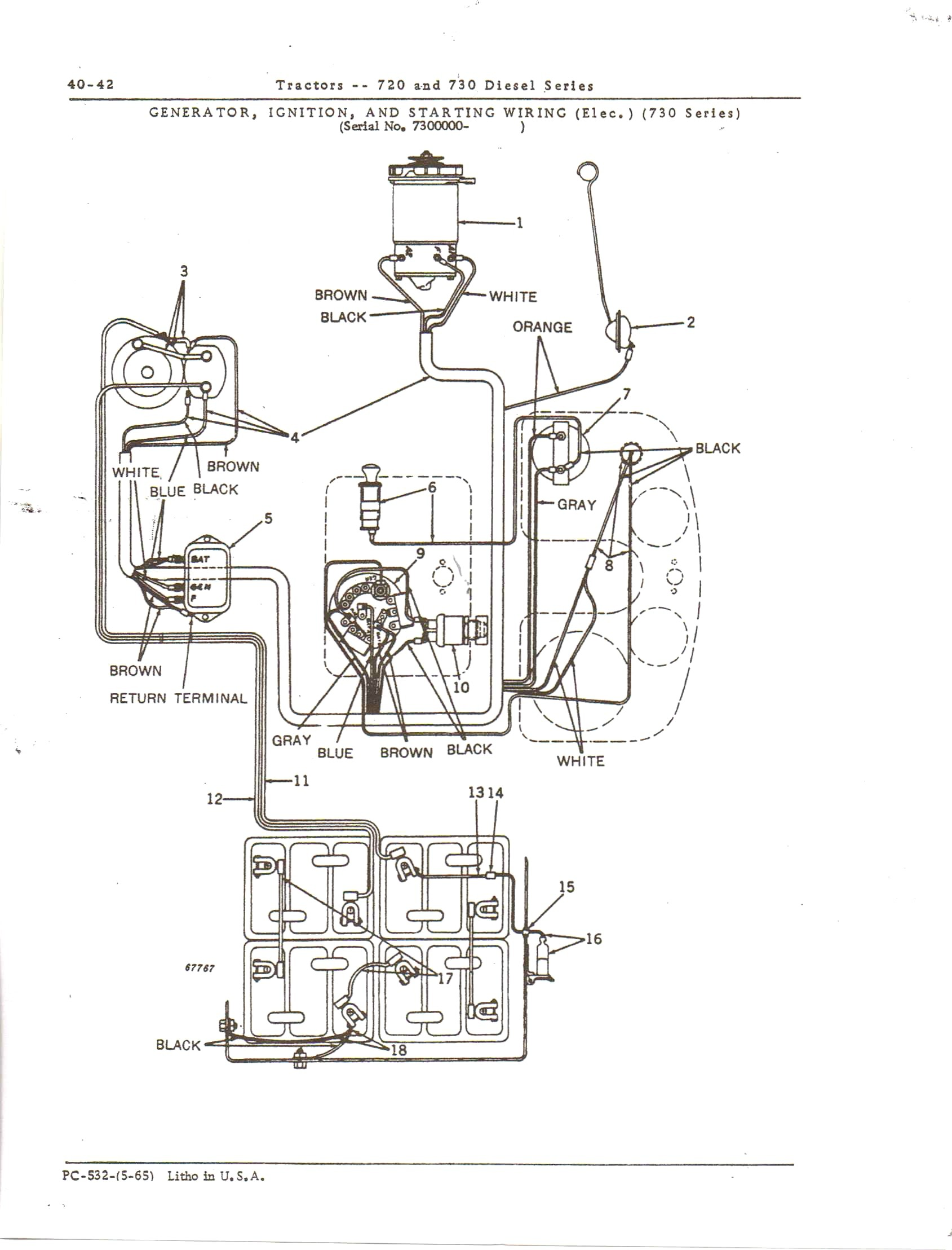 Perfect John Deere Wiring Diagram Download For 310 Collection ...