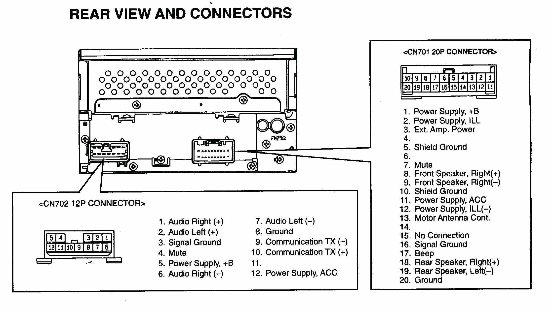 Jvc Car Stereo Wiring Diagram Unique | Wiring Diagram Image