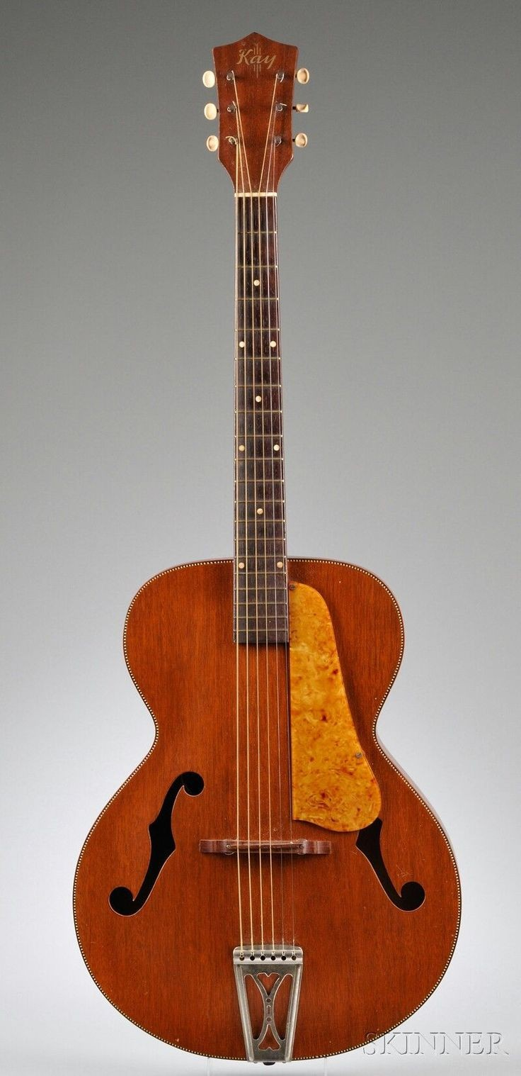 This would have to be the best design Kay ever made American Archtop Guitar