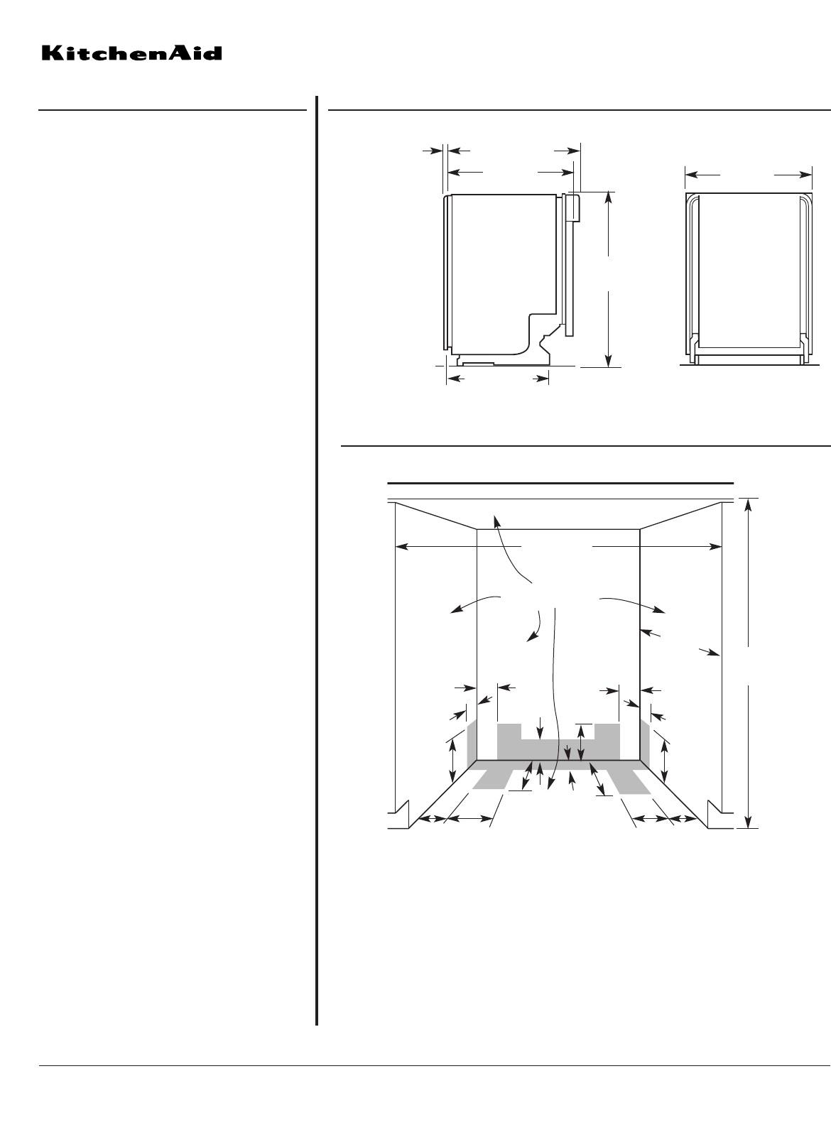 KitchenAid KUDS03FT Dishwasher User Manual