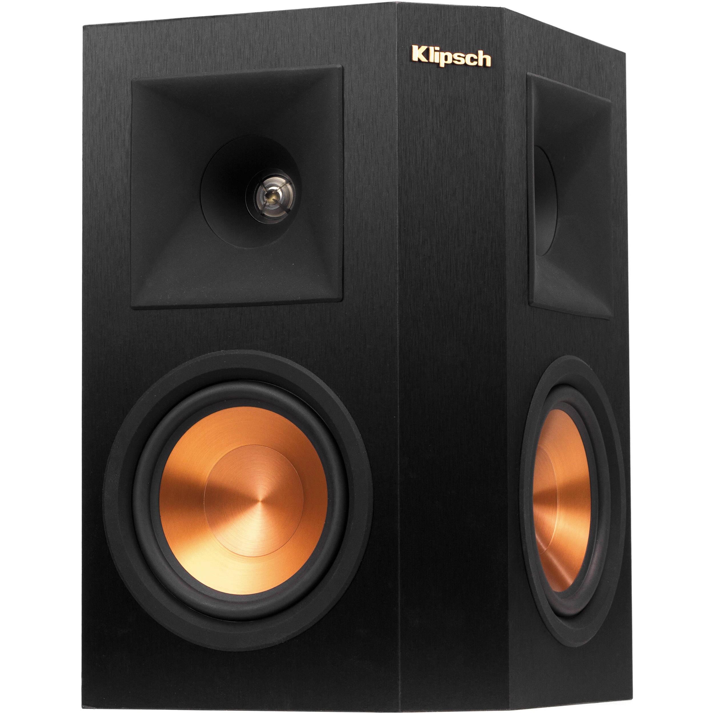 Klipsch Reference Premiere RP 250S Surround Speaker Black Single